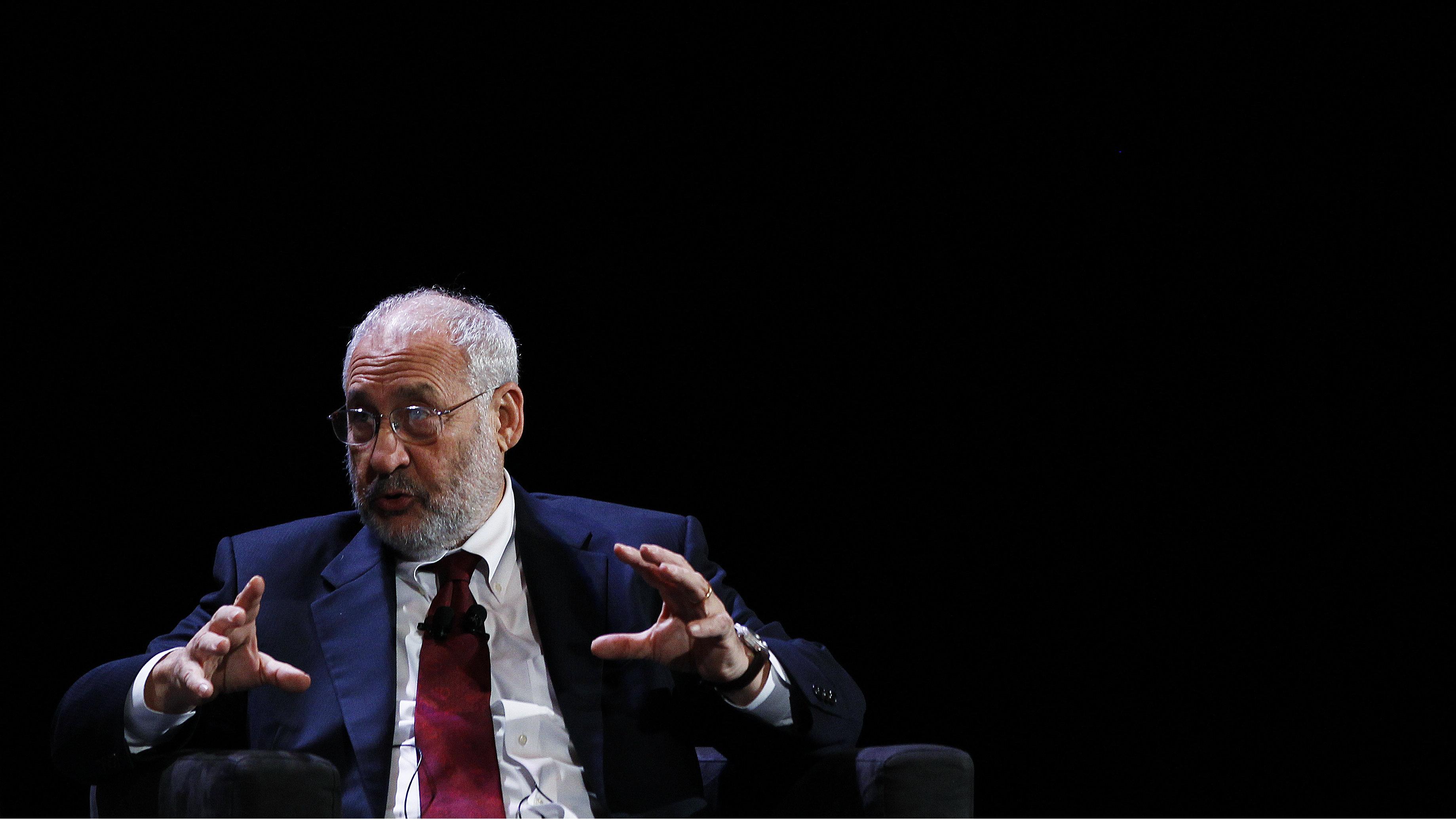 Nobel laureate Joseph Stiglitz