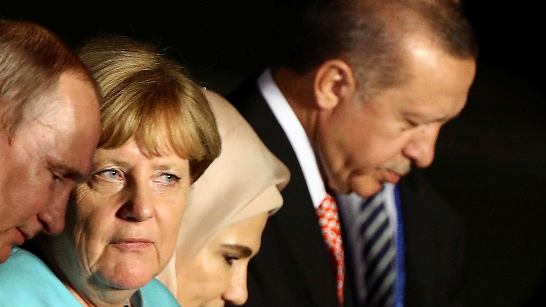 merkel erdogan germany turkey eu membership