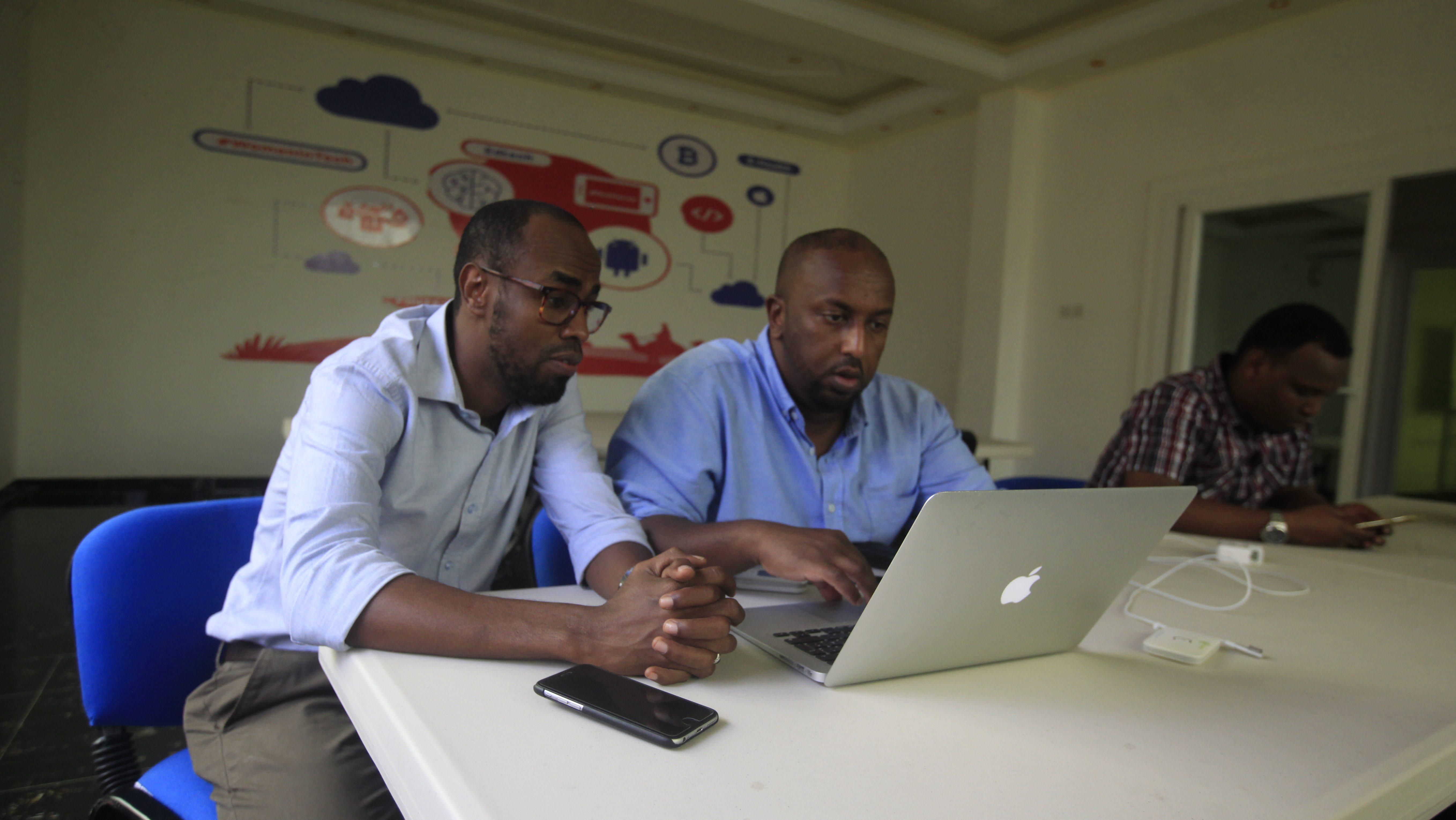 iRise Hub in Mogadishu, Somalia