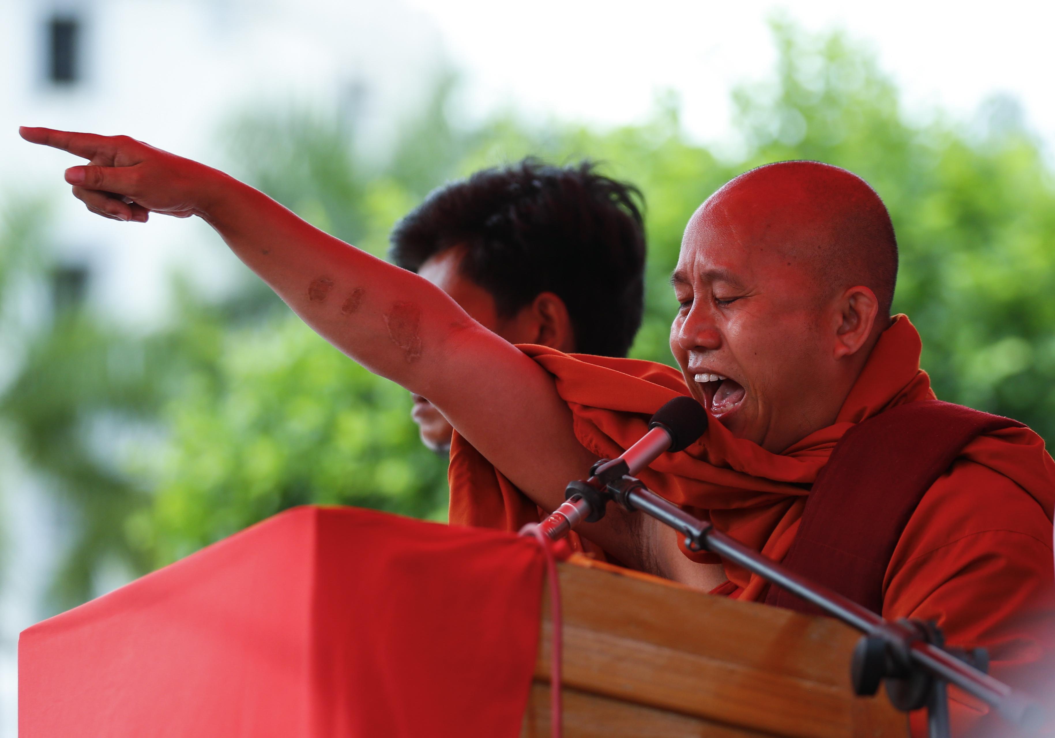 India-Buddhist-Wirathu