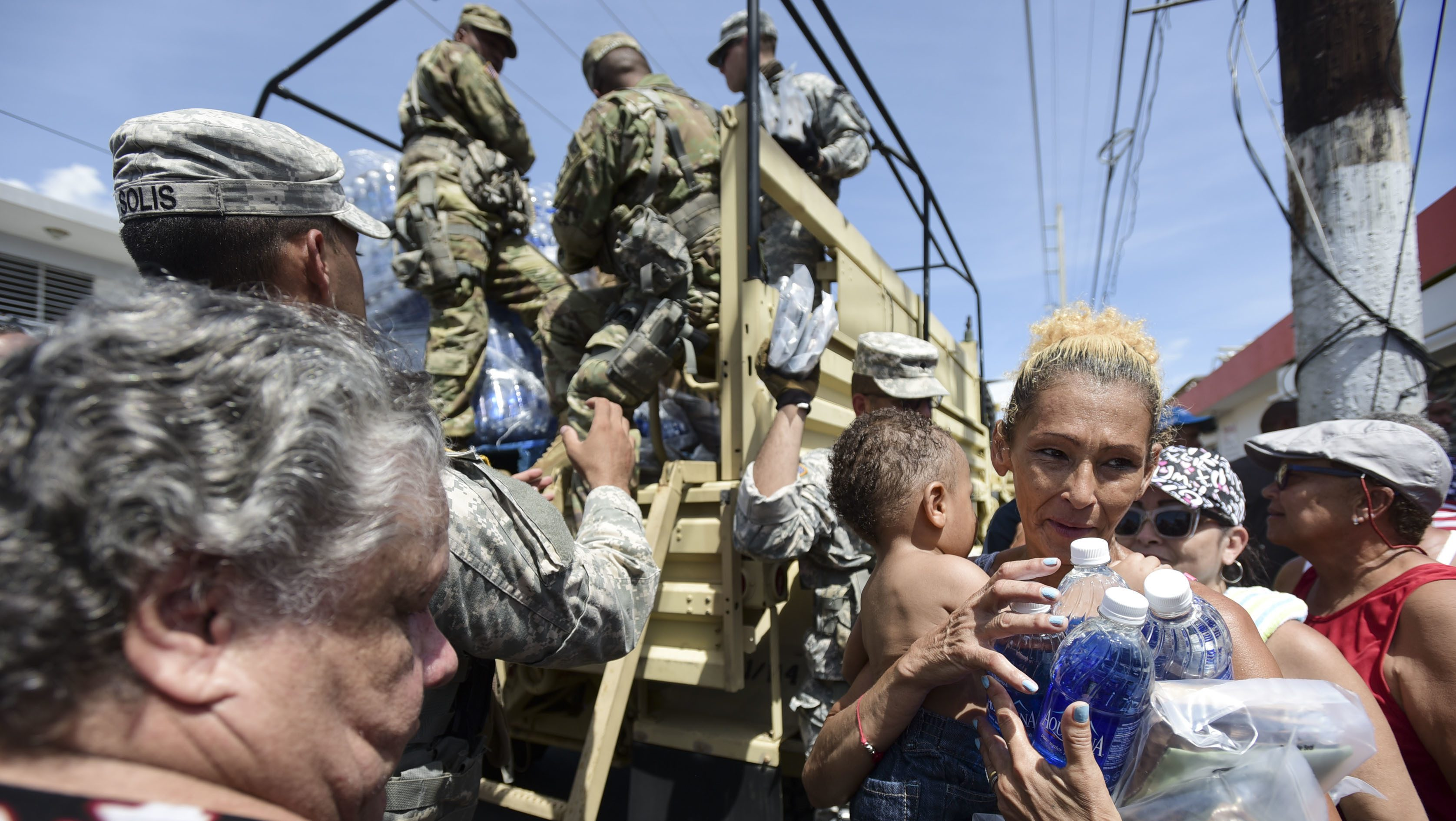 National Guard Soldiers in Puerto Rico