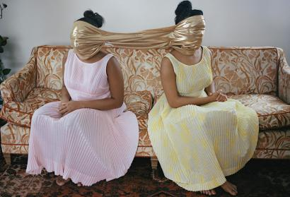 """The Girls Who Spun Gold"" by Nydia Blas, from Mfon: Women Photographers of the African Diaspora."