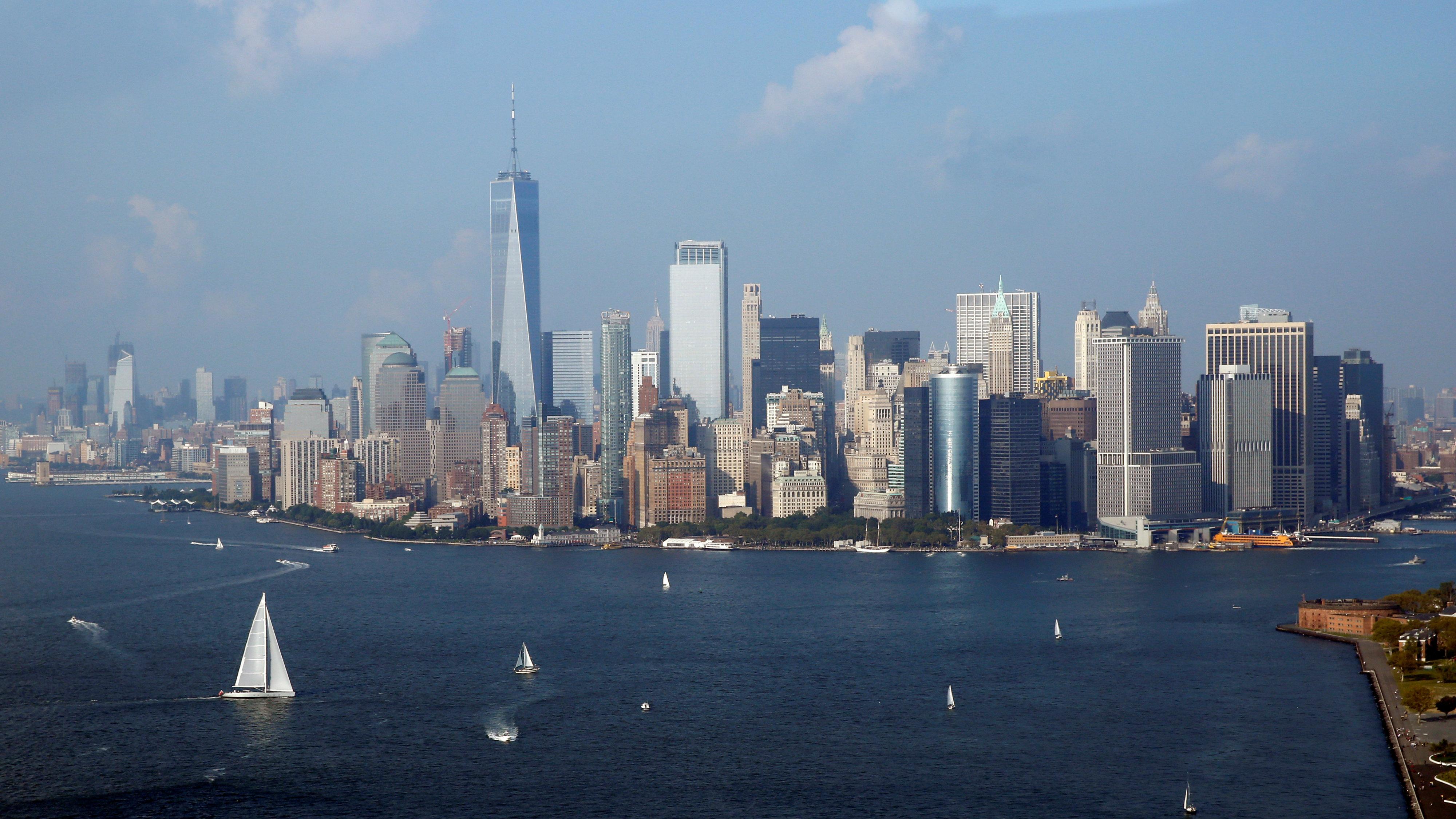 View of Manhattan, New York,