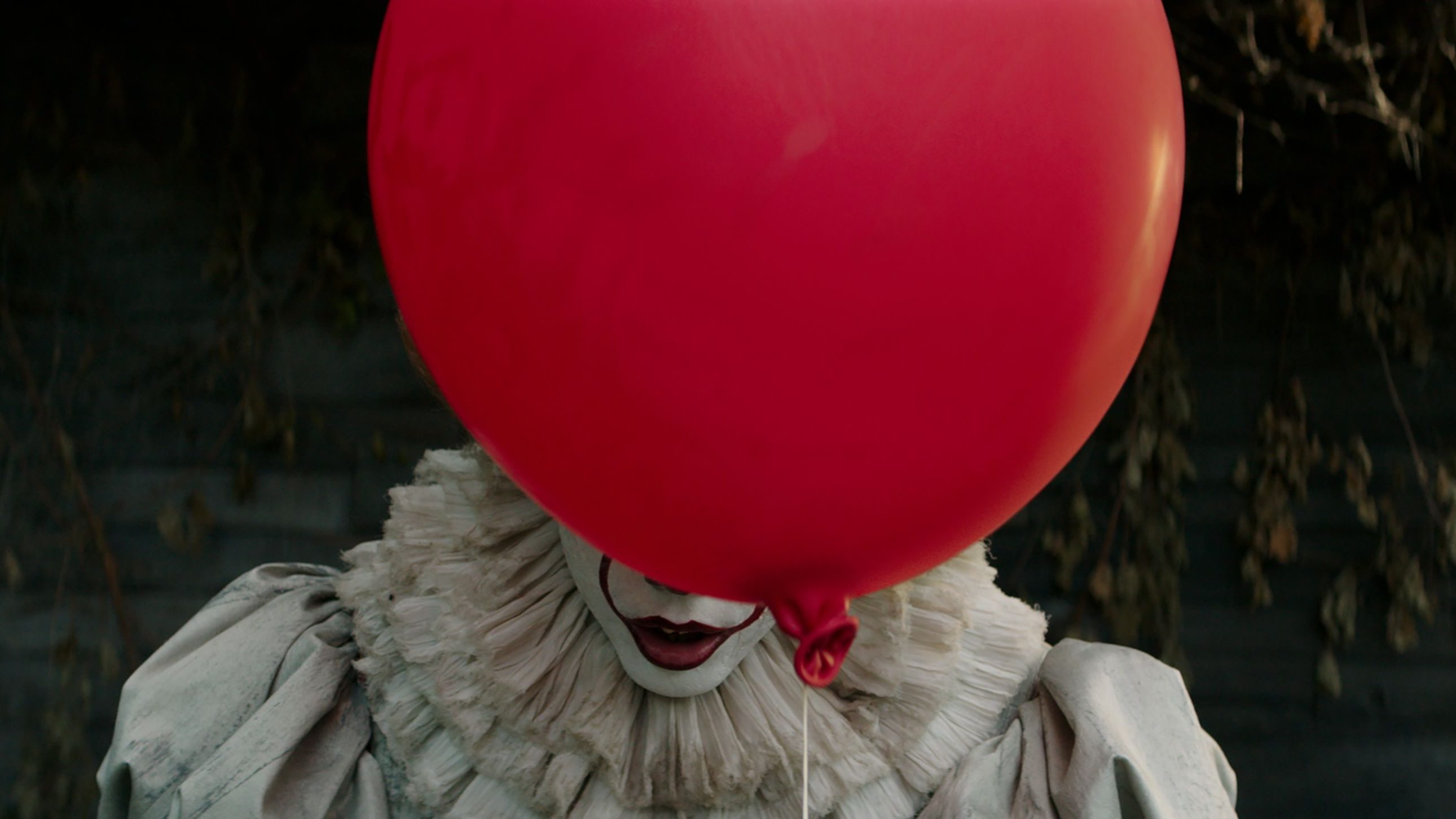"Pennywise in the 2017 adaptation of Stephen Kings ""It"""