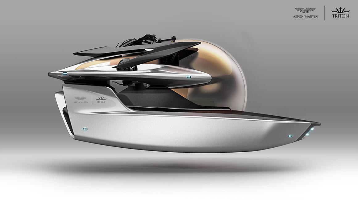 Aston Martin's submarine concept