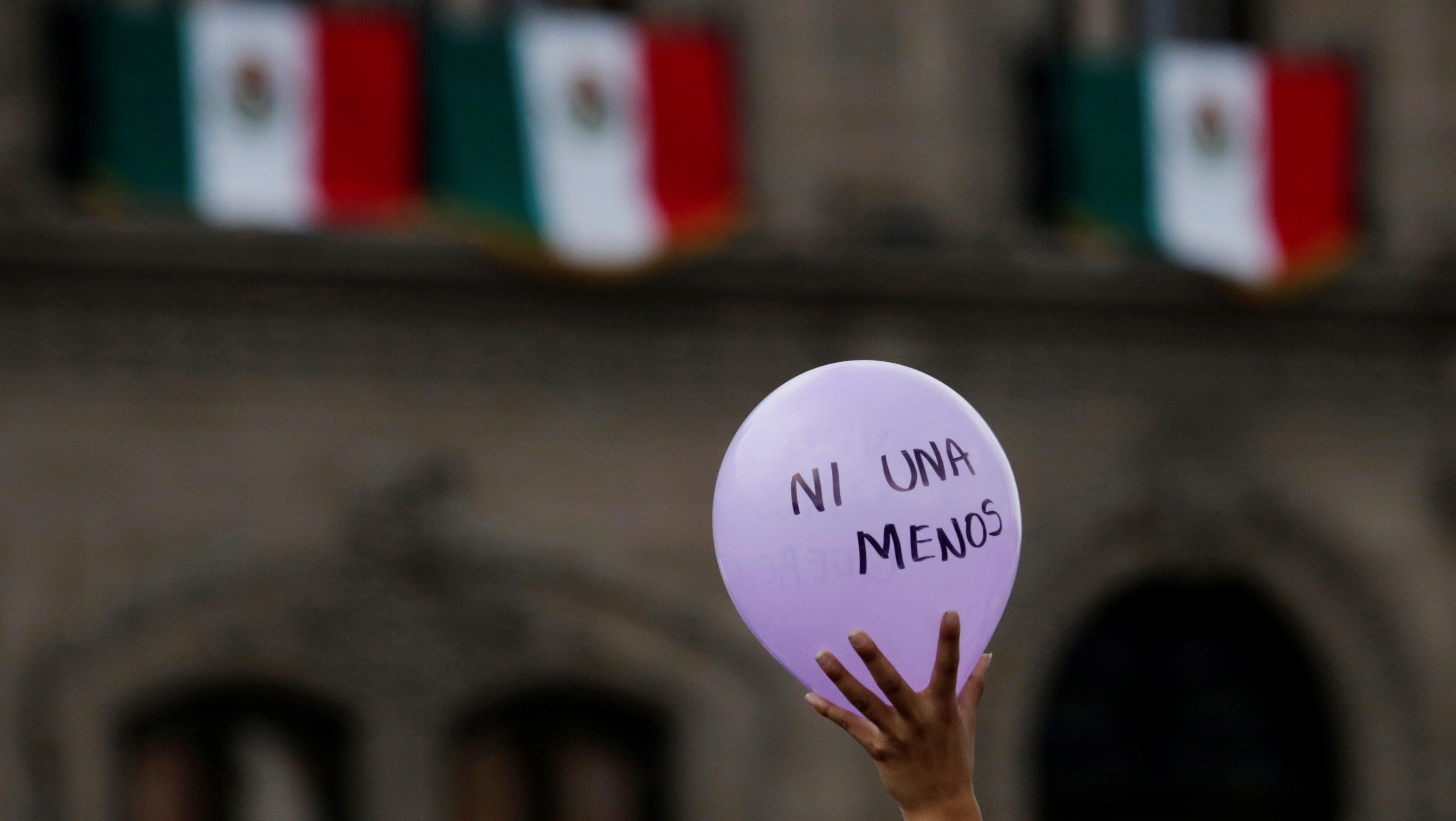 a march in honor of Mara Fernanda Castilla