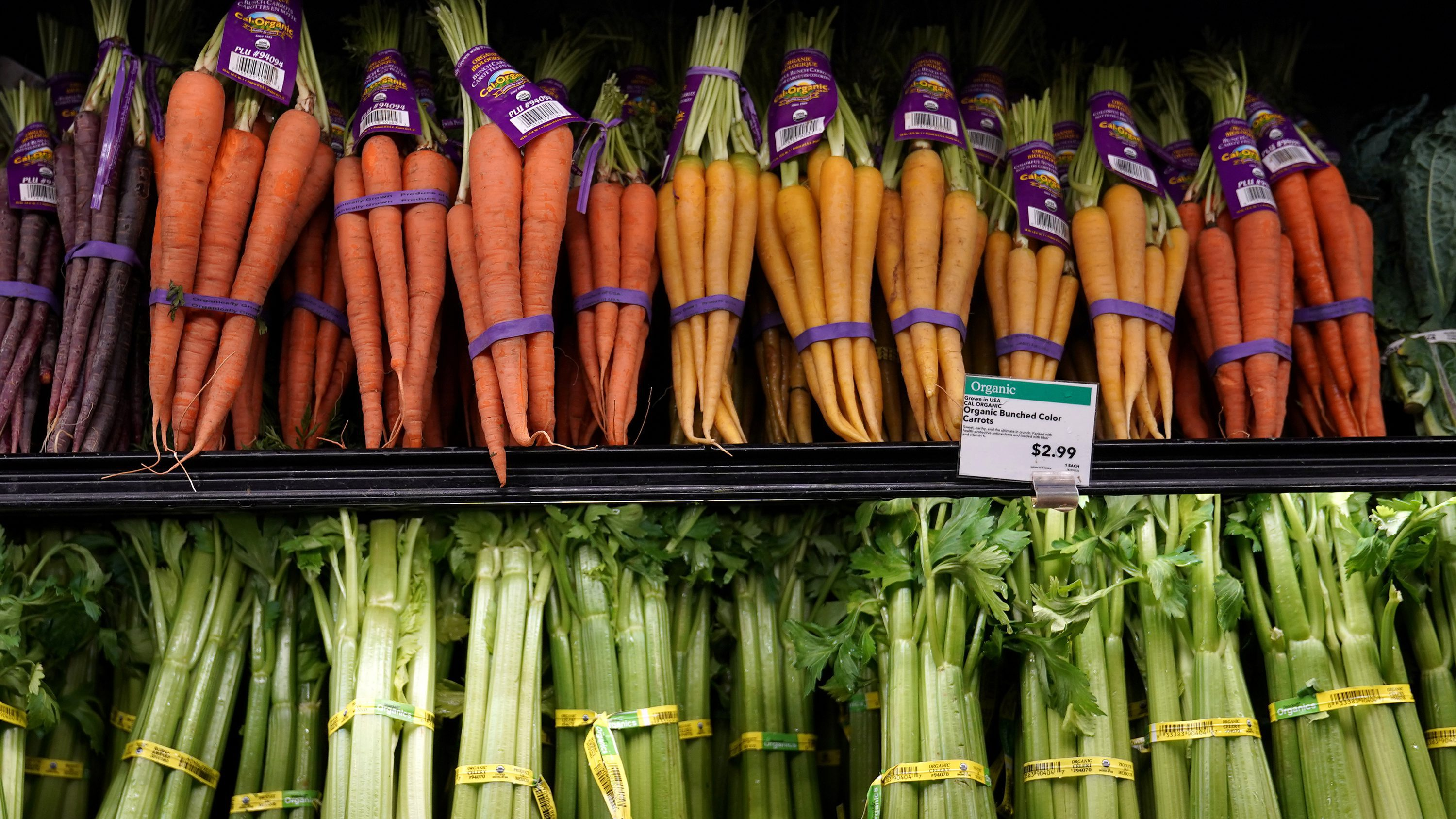 Vegetables for sale are pictured inside a Whole Foods Market in the Manhattan borough of New York City, New York, U.S. June 16, 2017.