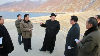 North Korean leader Kim Jong Un visits the Wonsan Army-People Power Station in this undated photo released by North Korea's Korean Central News Agency (KCNA) in Pyongyang December 13, 2016.