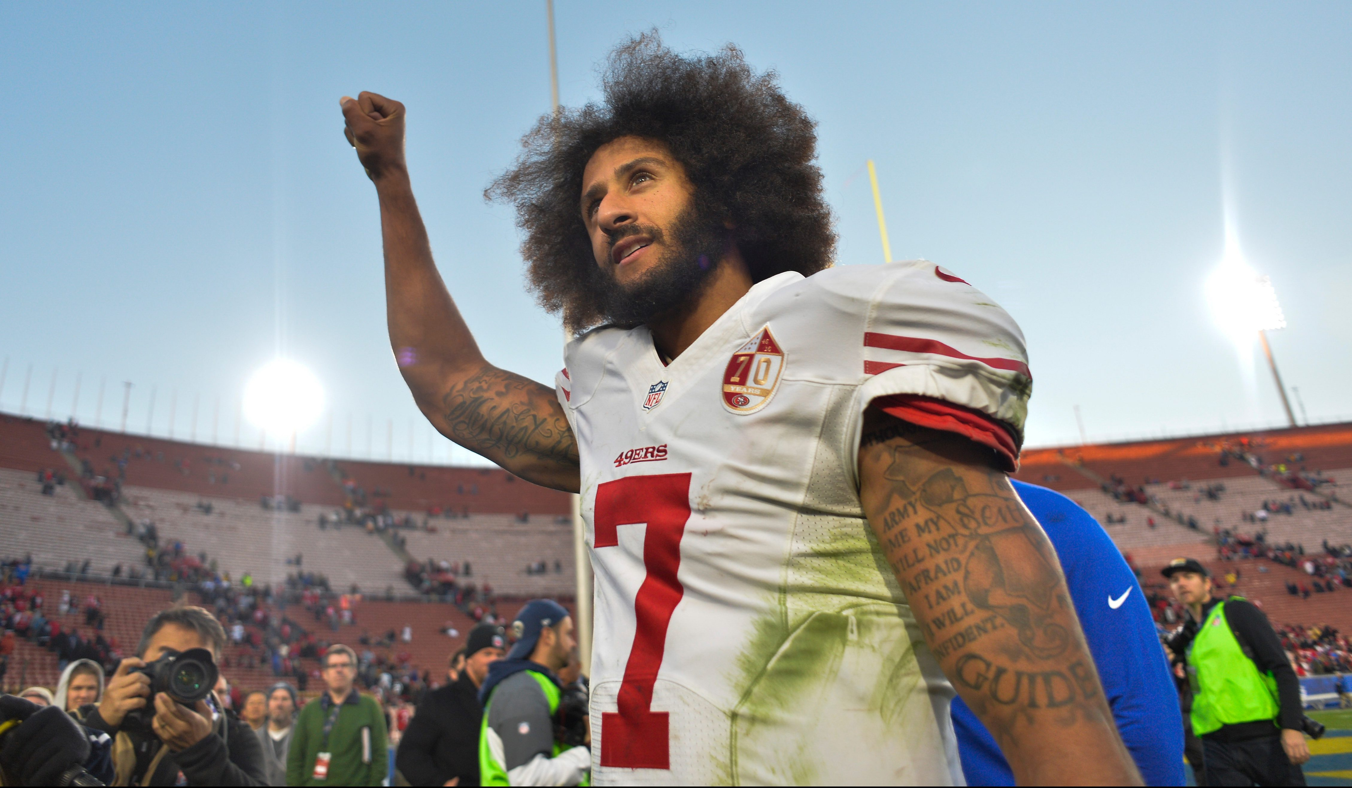43aa5faa A Colin Kaepernick jersey is now hanging in New York's Museum of Modern Art