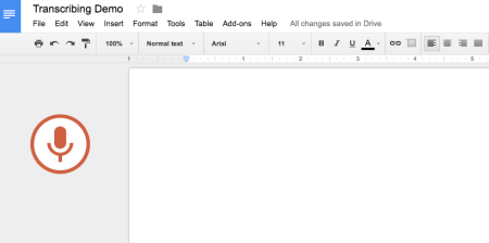 How to transcribe audio fast and for free using google docs