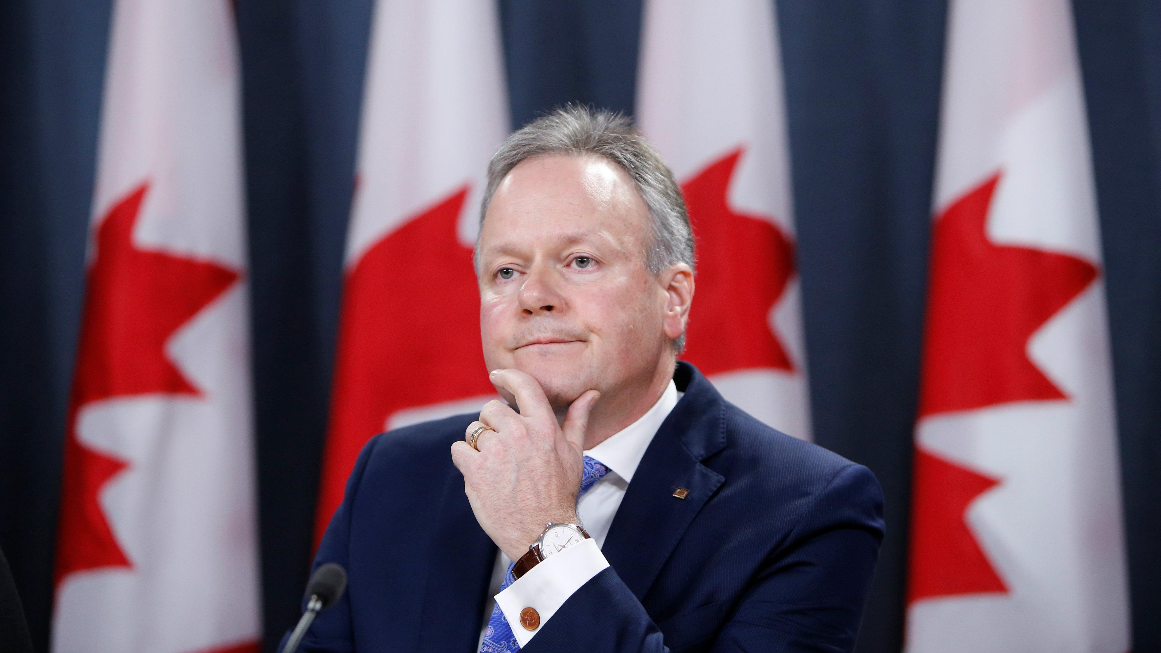Bank of Canada Governor Stephen Poloz
