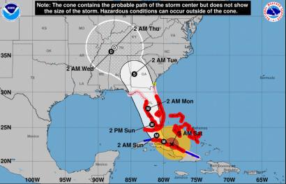 Florida Map Hurricane Irma Hurricane Irma: Many Floridians are now in danger because they