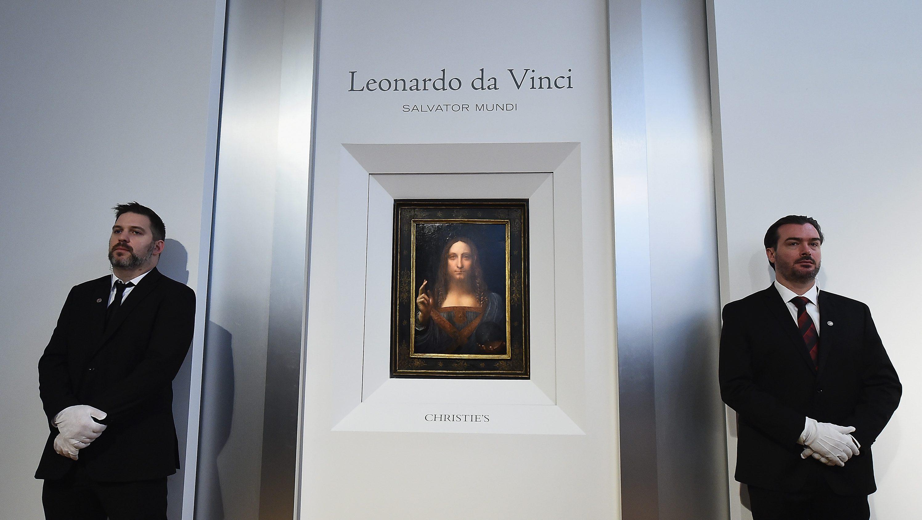 Leonardo da Vanci's last known painting, Salvator Mundi, was