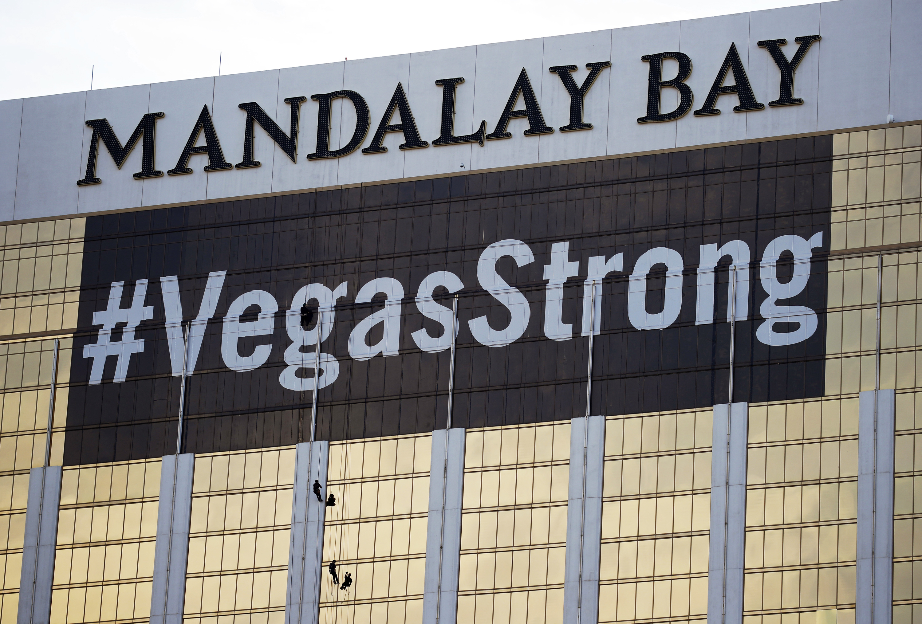 In the aftermath of the Las Vegas shooting, a 14-year-old catchphrase is quietly halted