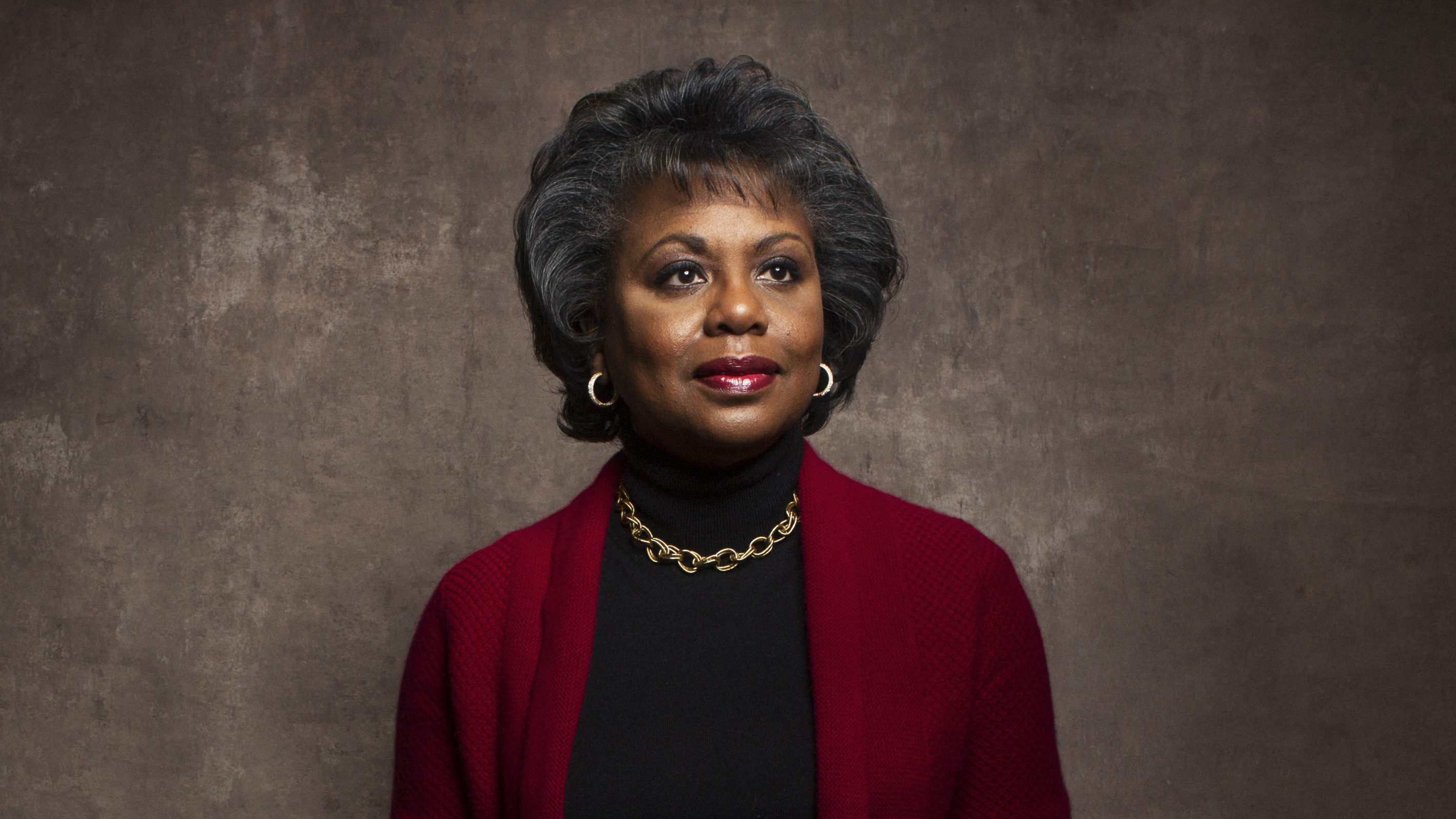 "FILE - This Jan. 18, 2013 file photo shows Anita Hill during the Sundance Film Festival in Park City, Utah. Hill made national headlines in 1991 when she testified that then-Supreme Court nominee Clarence Thomas had sexually harassed her. Now, more than 20 years later, director Freida Mock explores Hill's landmark testimony and the resulting social and political changes in the documentary ""Anita."" (Photo by Victorial Will/Invision/AP, File)"