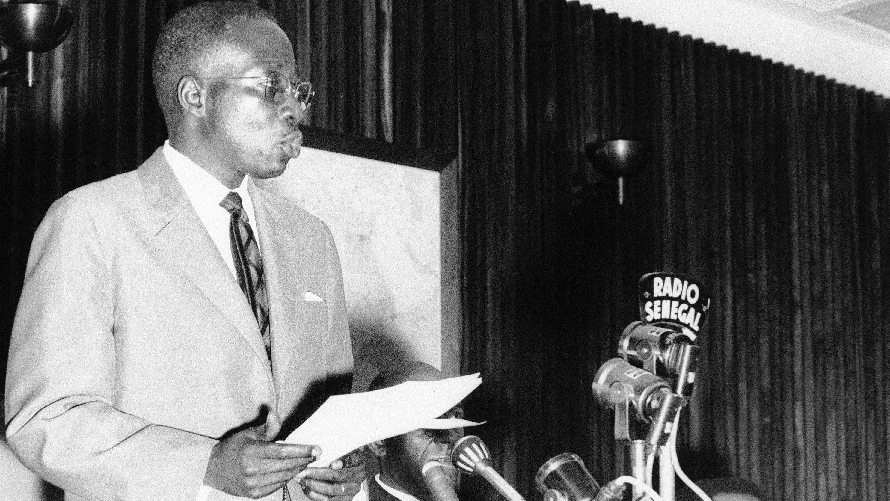 President Leopold Senghor