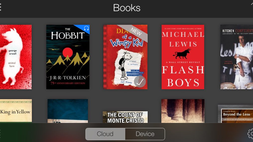 Book kindle wont iphone app