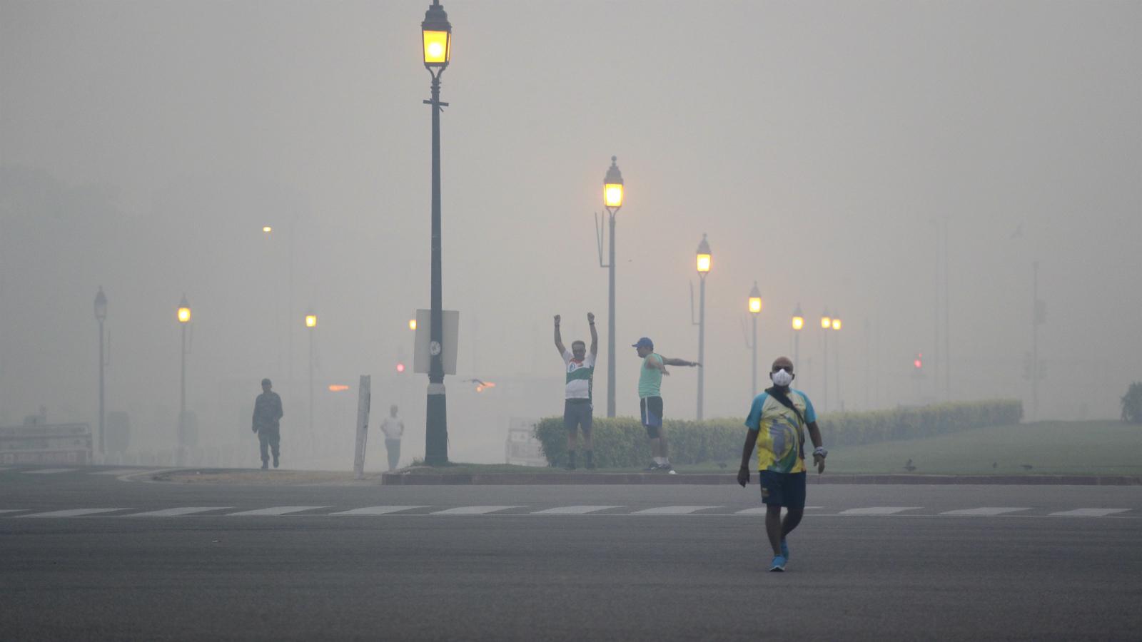 India-Pollution-New Delhi-Smog