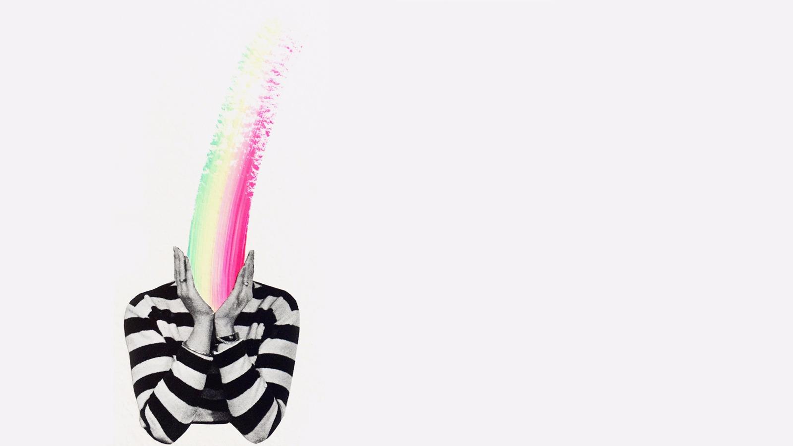 Danielle Krysa collage - ideas nostalgia series