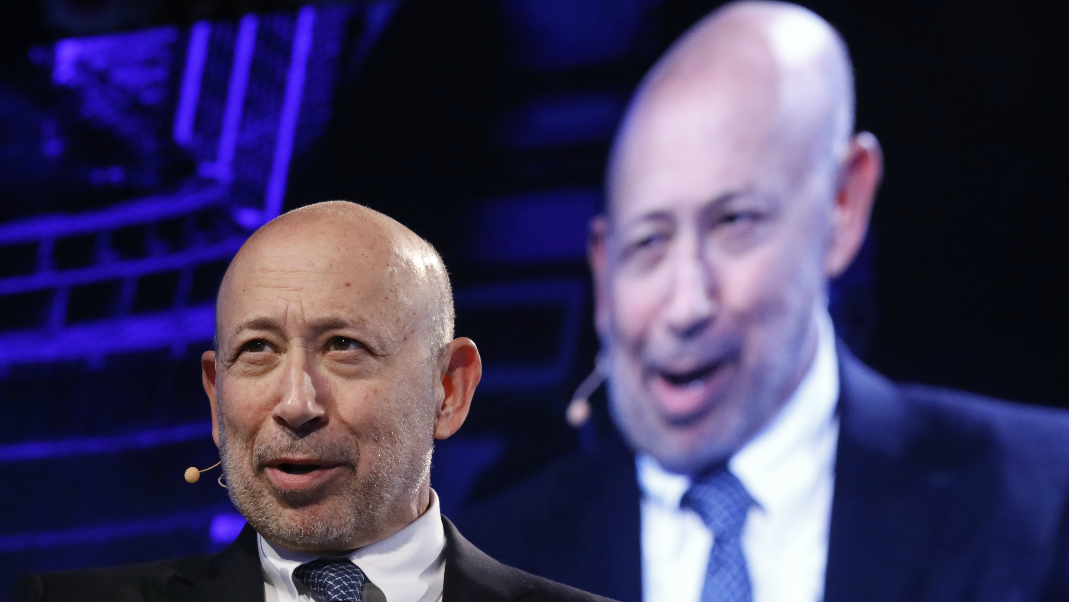 Goldman Sachs Chairman and CEO Lloyd Blankfein speaks at the Bloomberg Global Business Forum in New York, U.S., September 20, 2017.