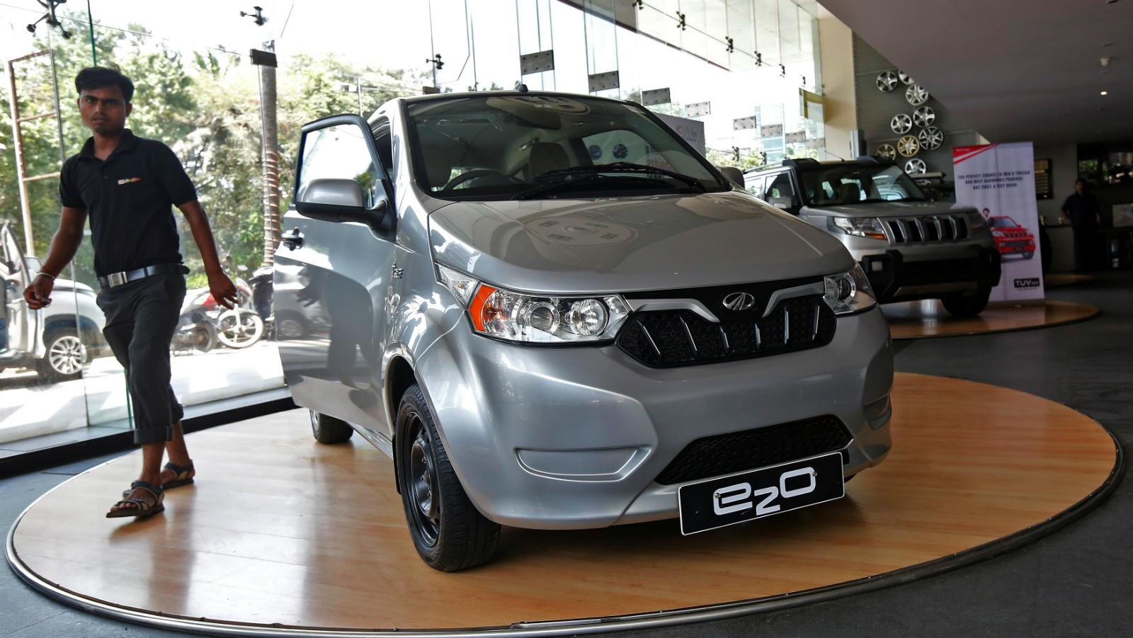India-Electric cars-Tata Motors-Mahindra