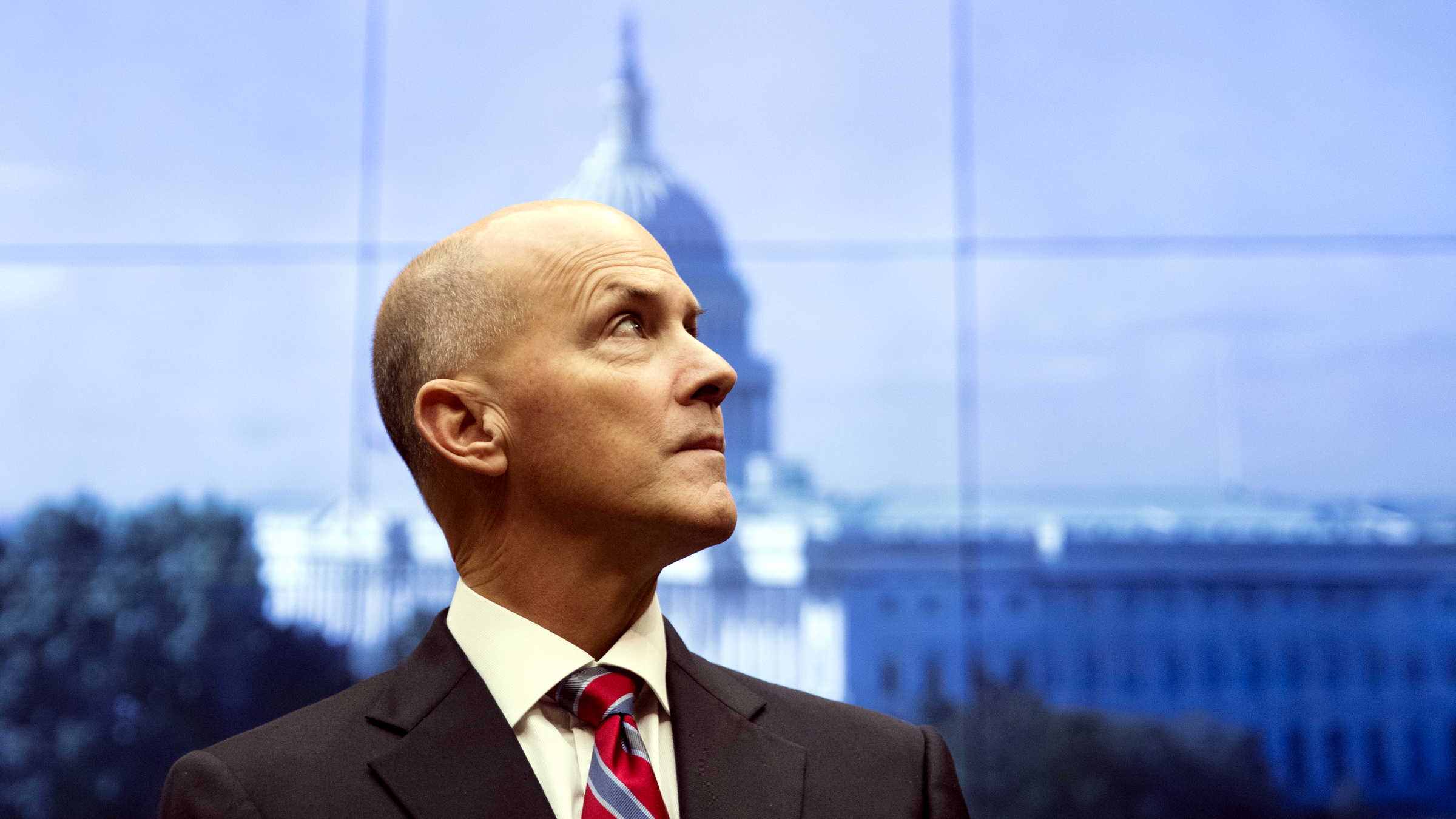 Former chairman and CEO of Equifax Richard F. Smith, pauses as he arrives to testify before the Digital Commerce and Consumer Protection Subcommittee of the House Commerce Committee on Capitol Hill in Washington, Tuesday, Oct. 3, 2017.