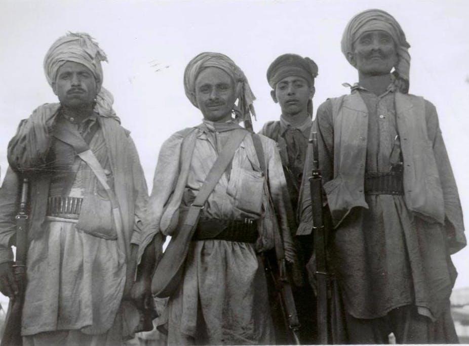 Orakzai tribesmen