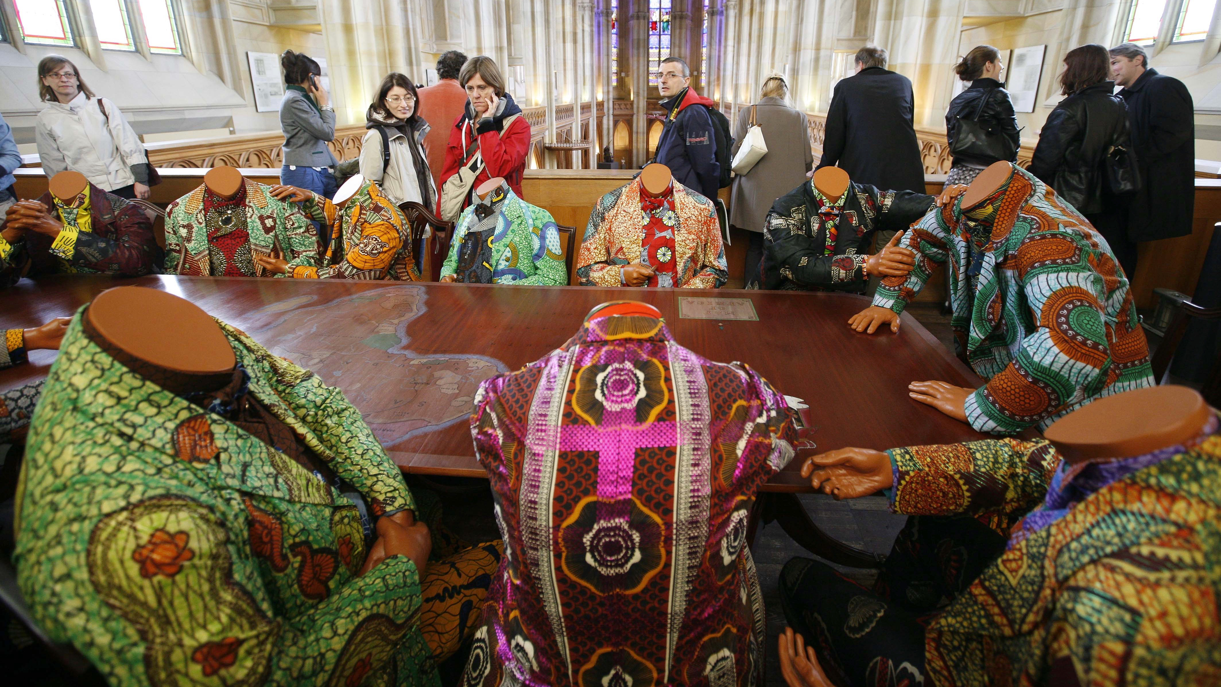 Global Christian Worship - Holy Week Art from Cameroon