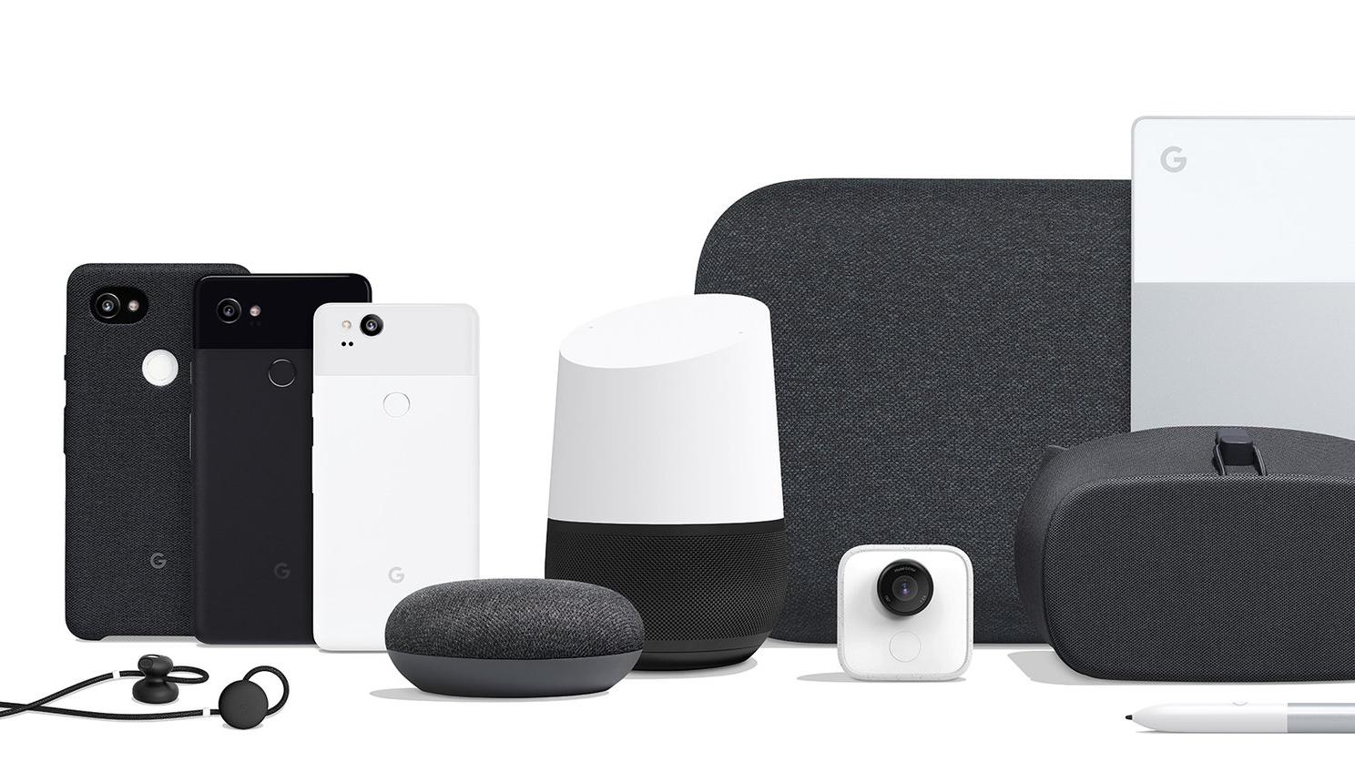 google hardware pixel home daydream pixelbook
