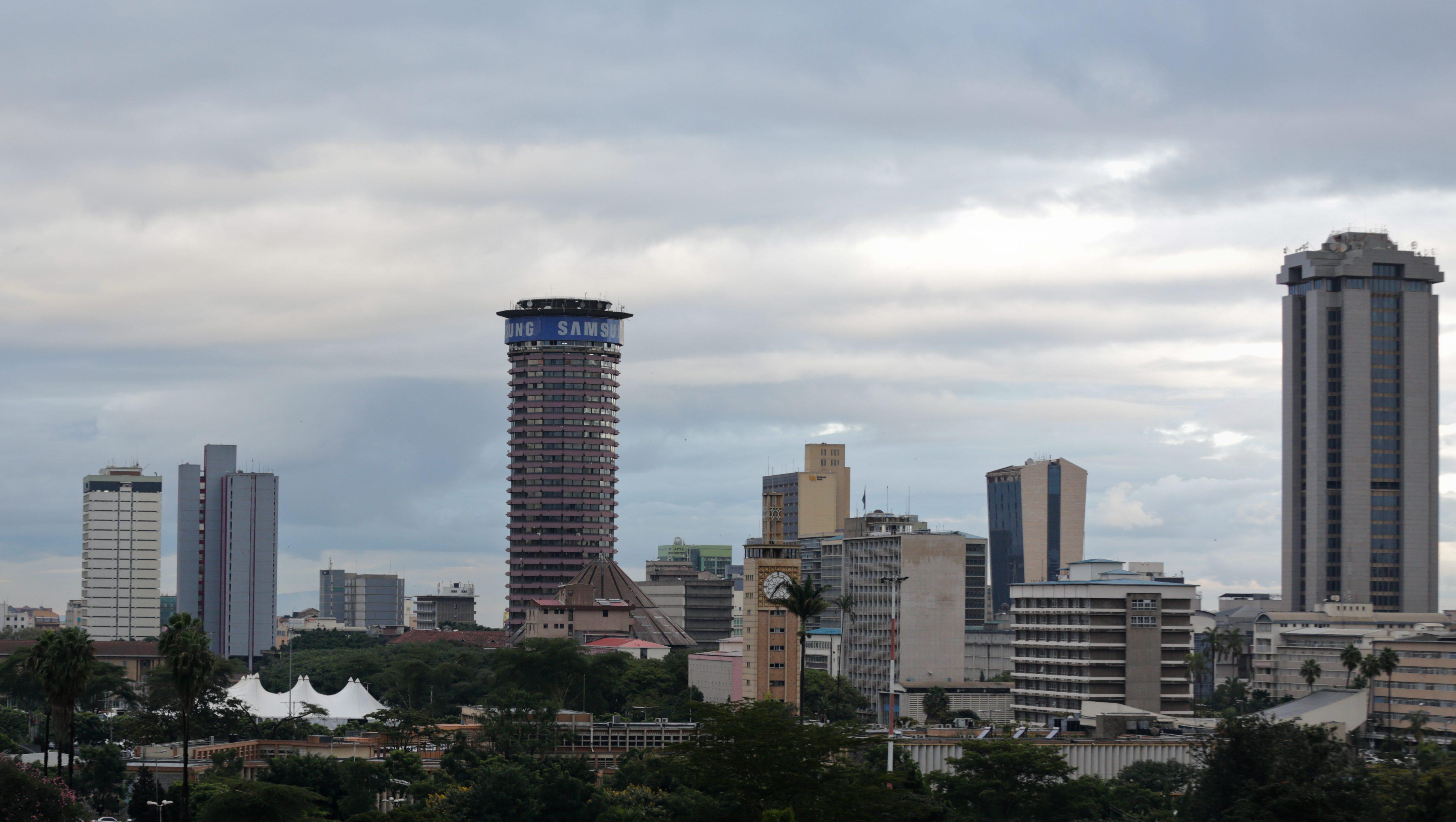 A general view of capital Nairobi, Kenya, 10 May 2016.