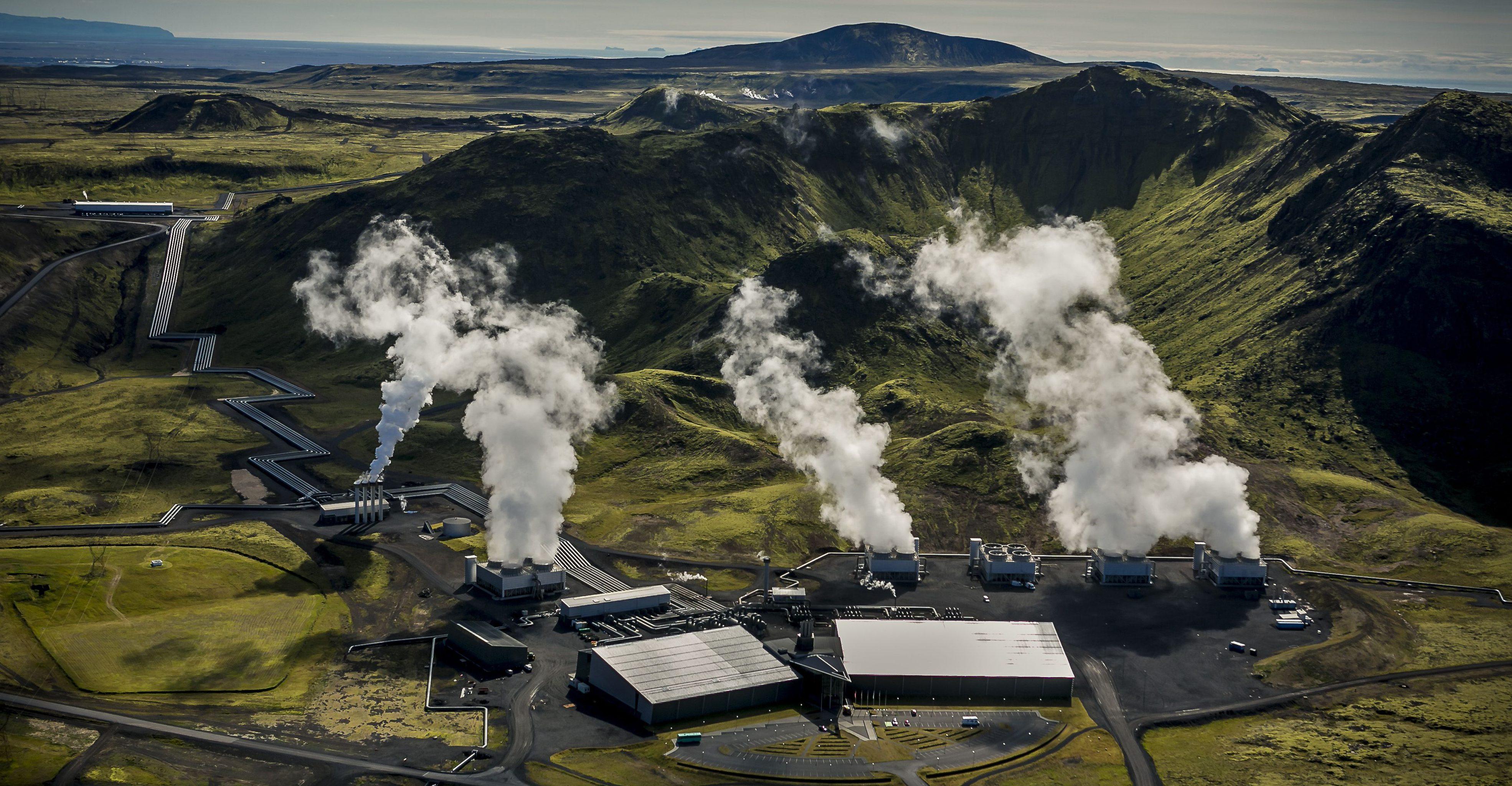 Hellisheidi Power Plant - Photo by Arni Saeberg