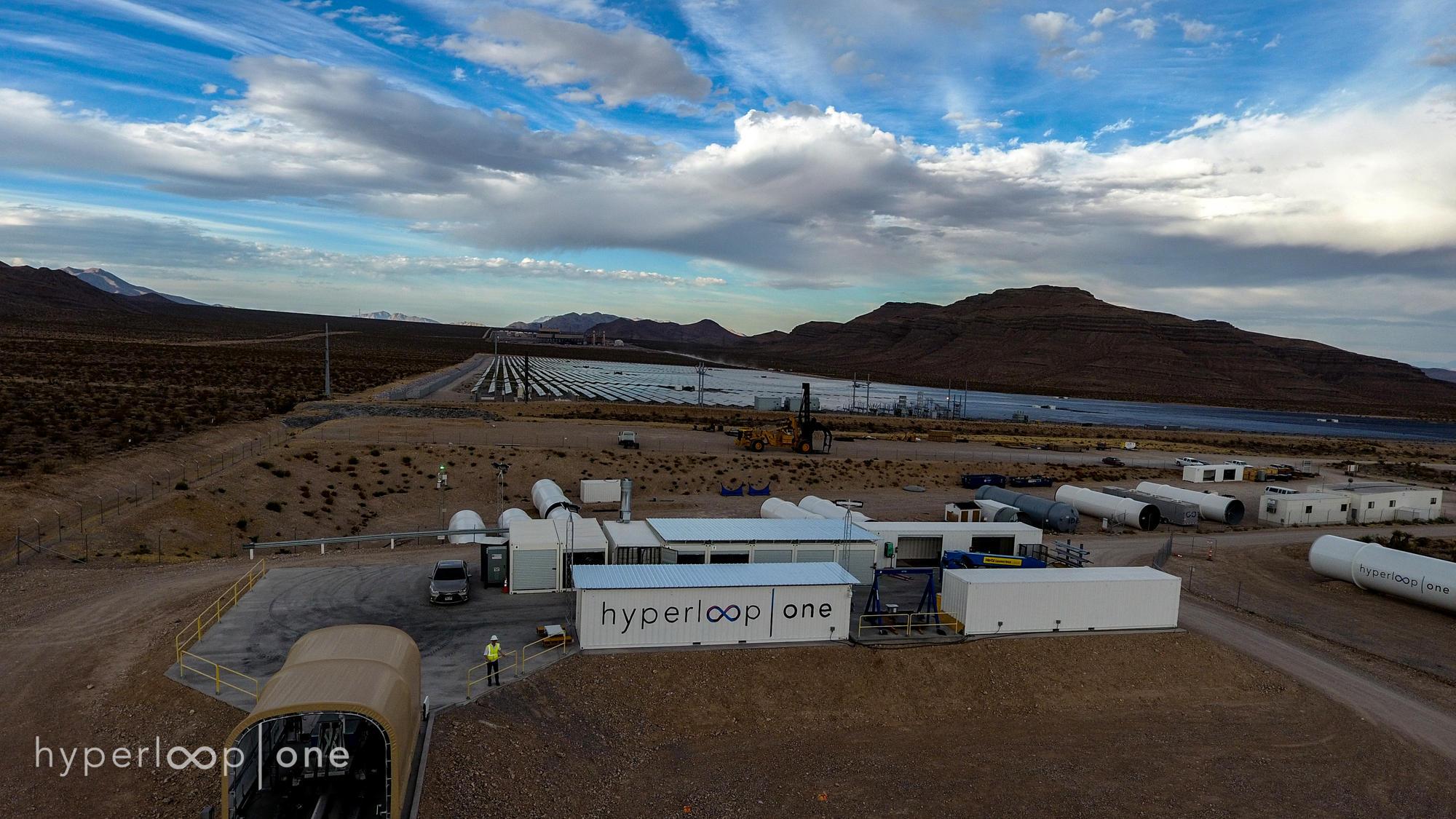 Hyperloop One facilities