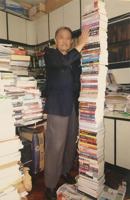 Woo Chih-wai, an author and the last manager of Causeway Bay Books, wi