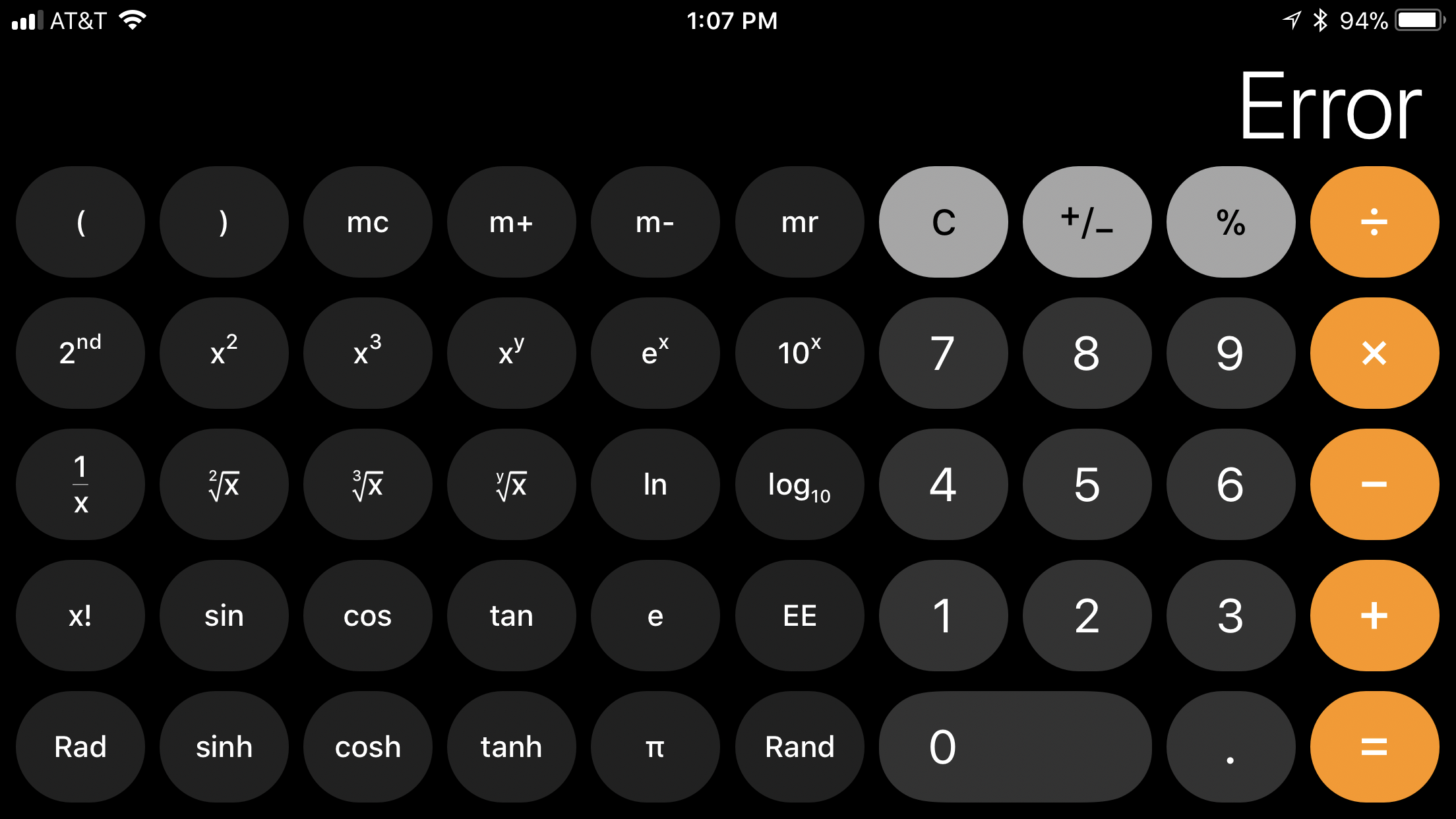 If you type 1+2+3 into your Apple iPhone's calculator on iOS
