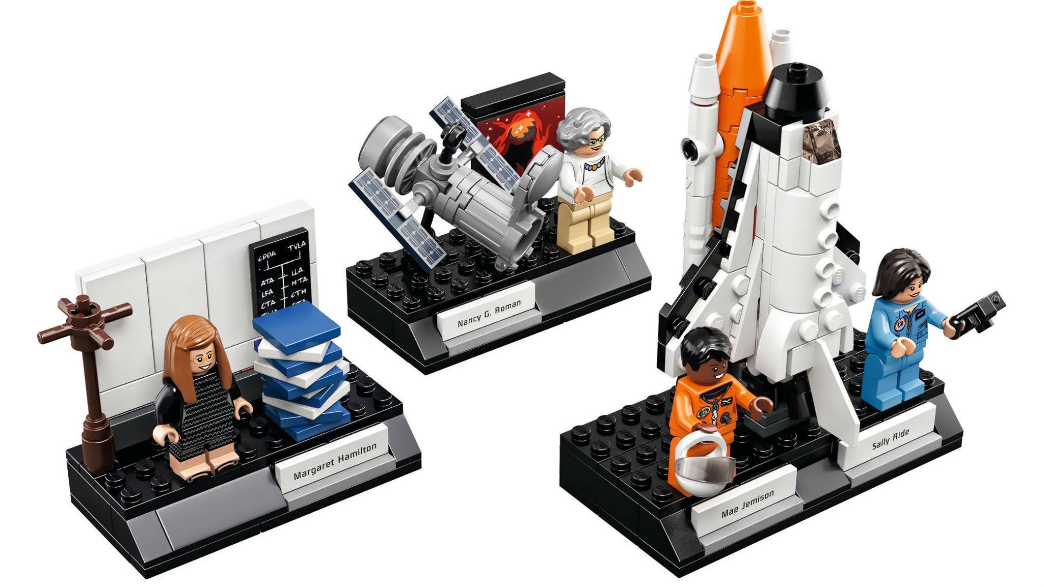 The 'Women of NASA' LEGO collection.