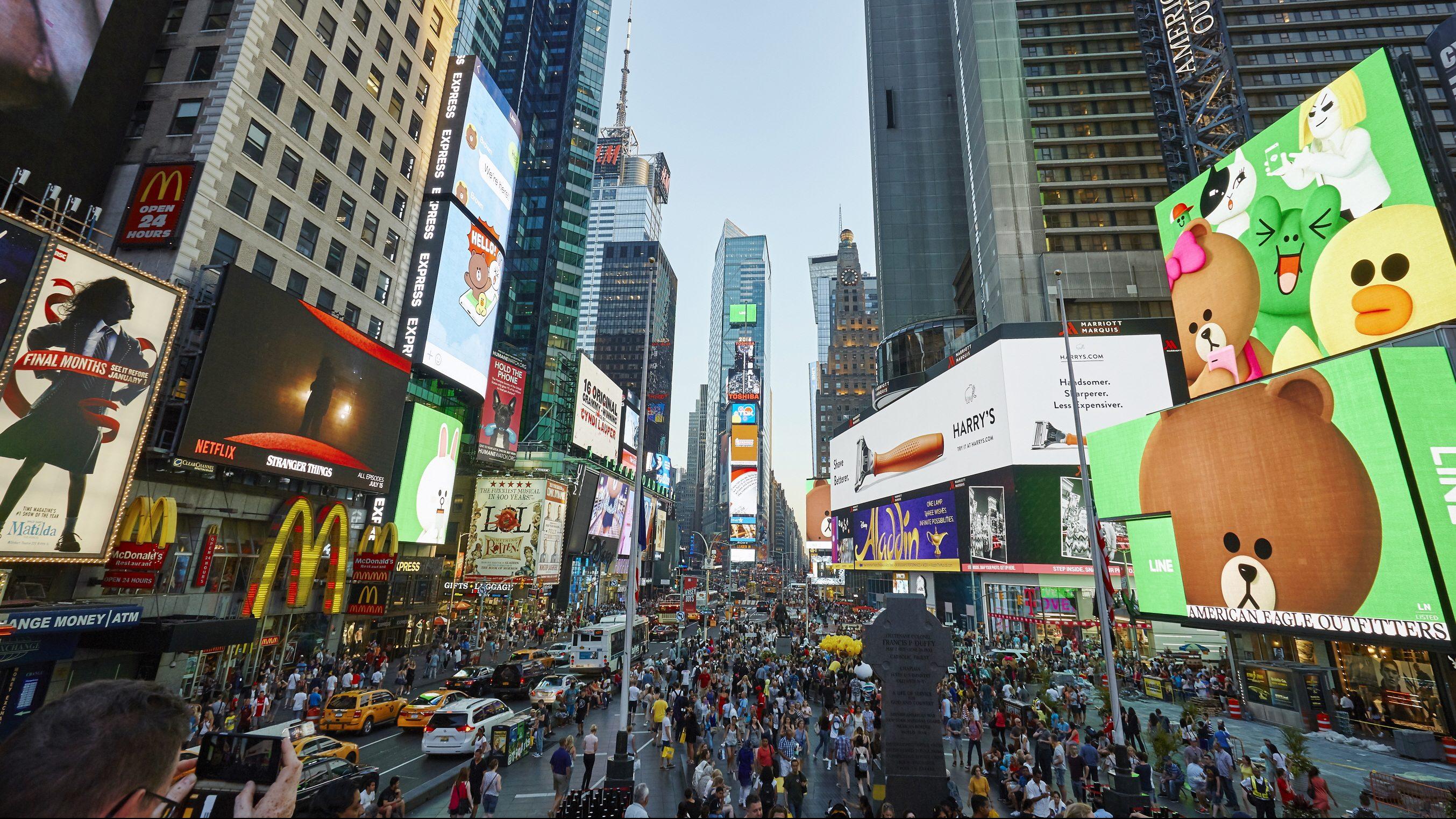Line's Times Square shop