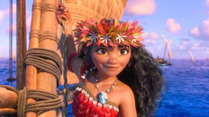 Moana from Disney's 2016 film ' ...