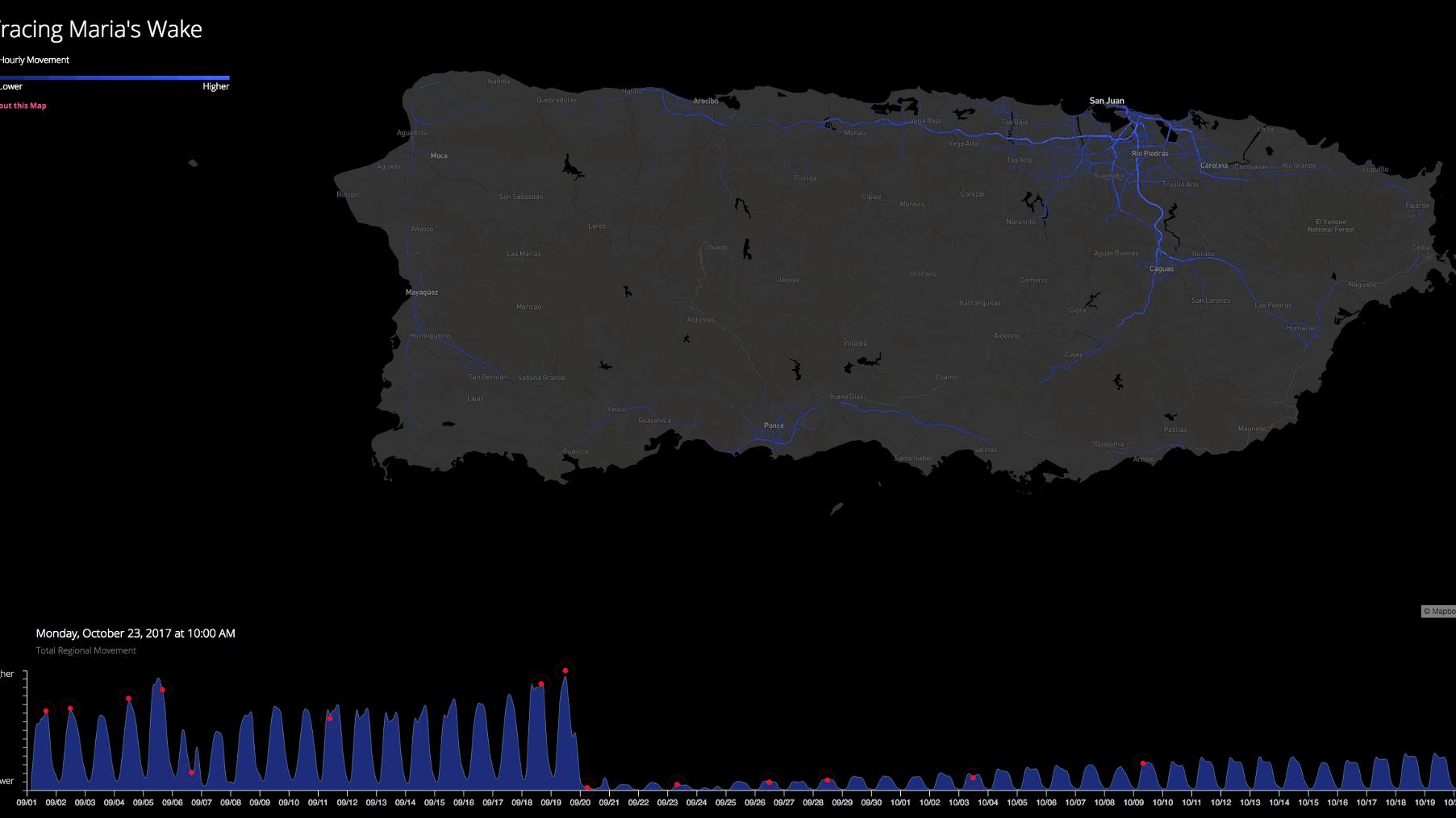 mapbox interactive map puerto rico after maria