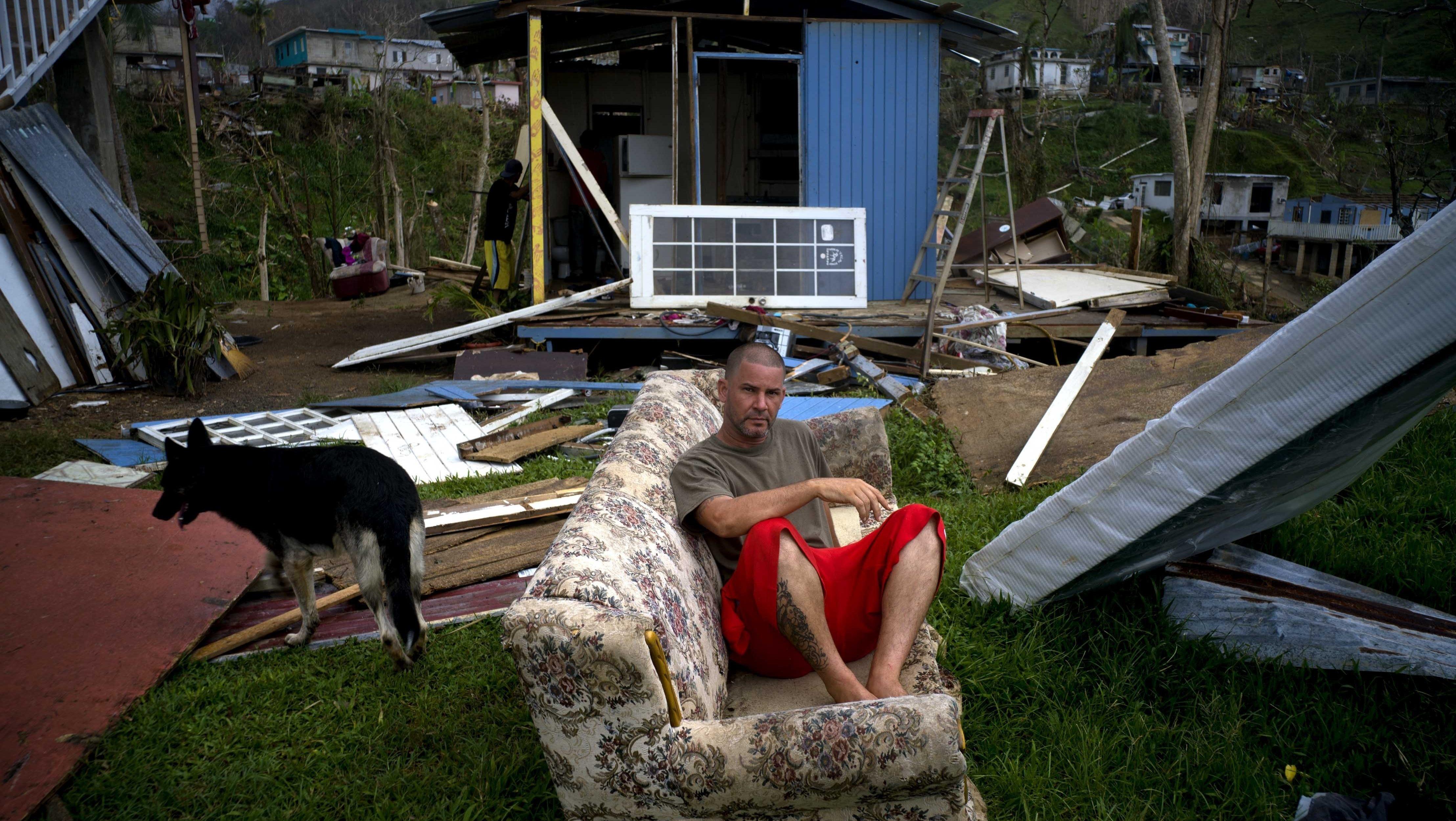 Destruction by Hurricane Maria,  Puerto Rico,