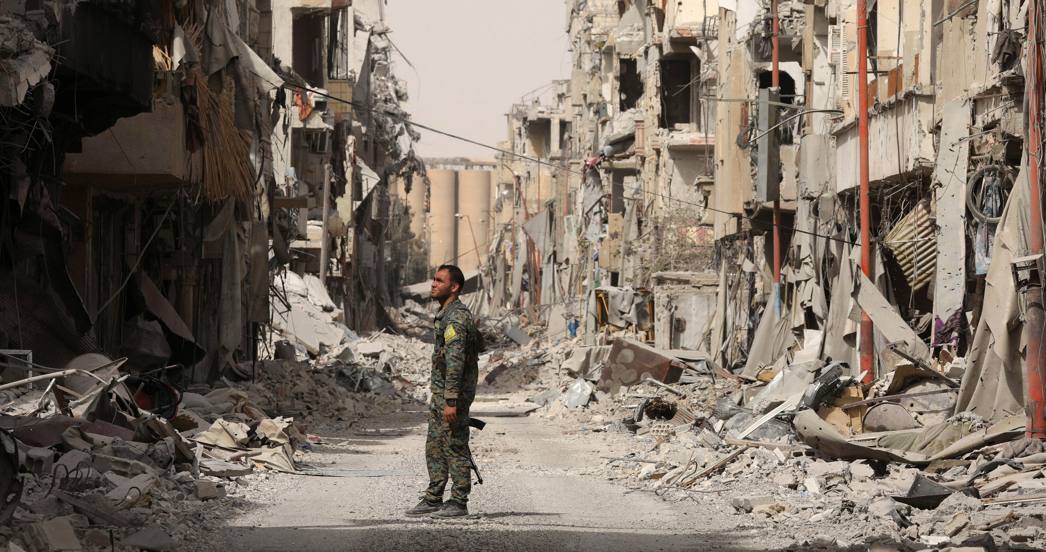 Raqqa News A Visual Tour Of The Destruction In Raqqa Syria After