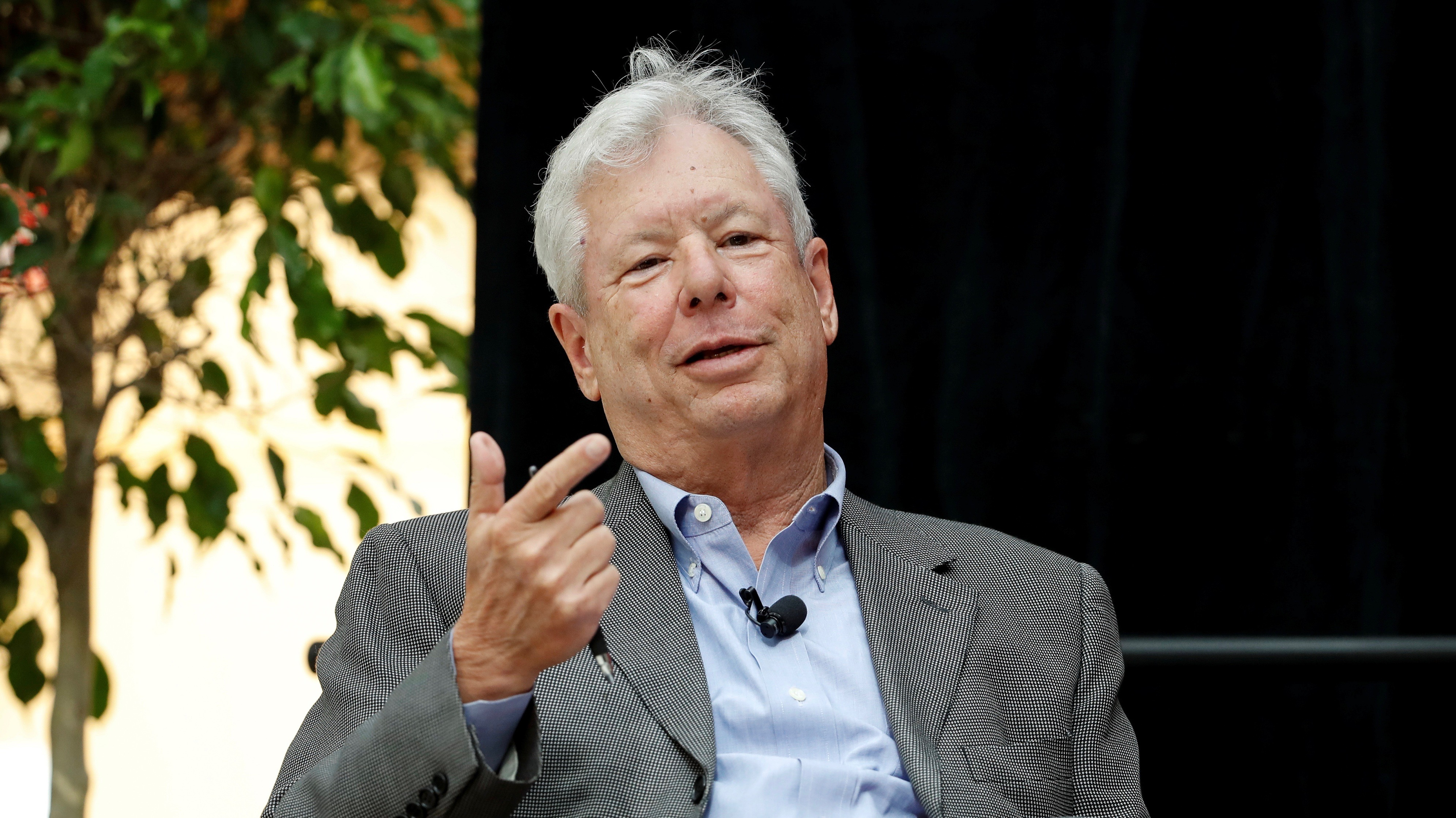 U.S. economist Richard Thaler, of the University of Chicago Booth School of Business, speaks during a news conference after winning the 2017 Nobel Economics Prize in Chicago, Illinois, U.S. October 9, 2017.