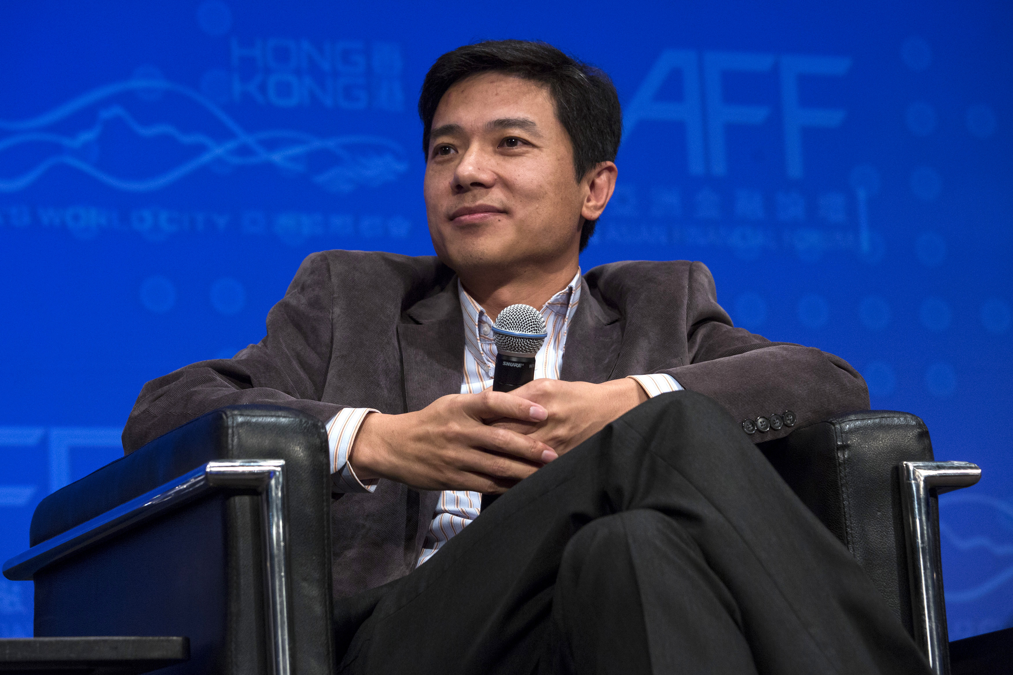 Chinese-language Internet search provider Baidu Inc. Chairman and CEO Robin Li attends the Asian Financial Forum (AFF) in Hong Kong January 13, 2014.