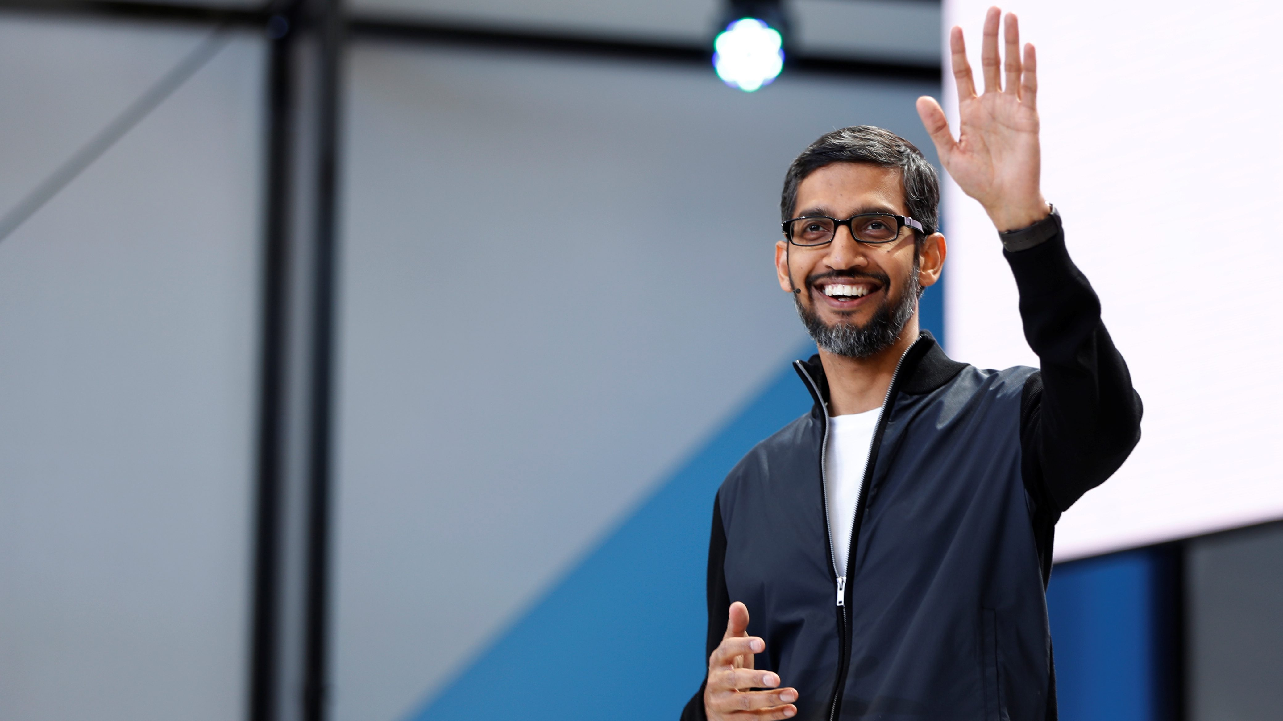 Google\'s CEO Sundar Pichai and Microsoft\'s CEO Satya Nadella are ...