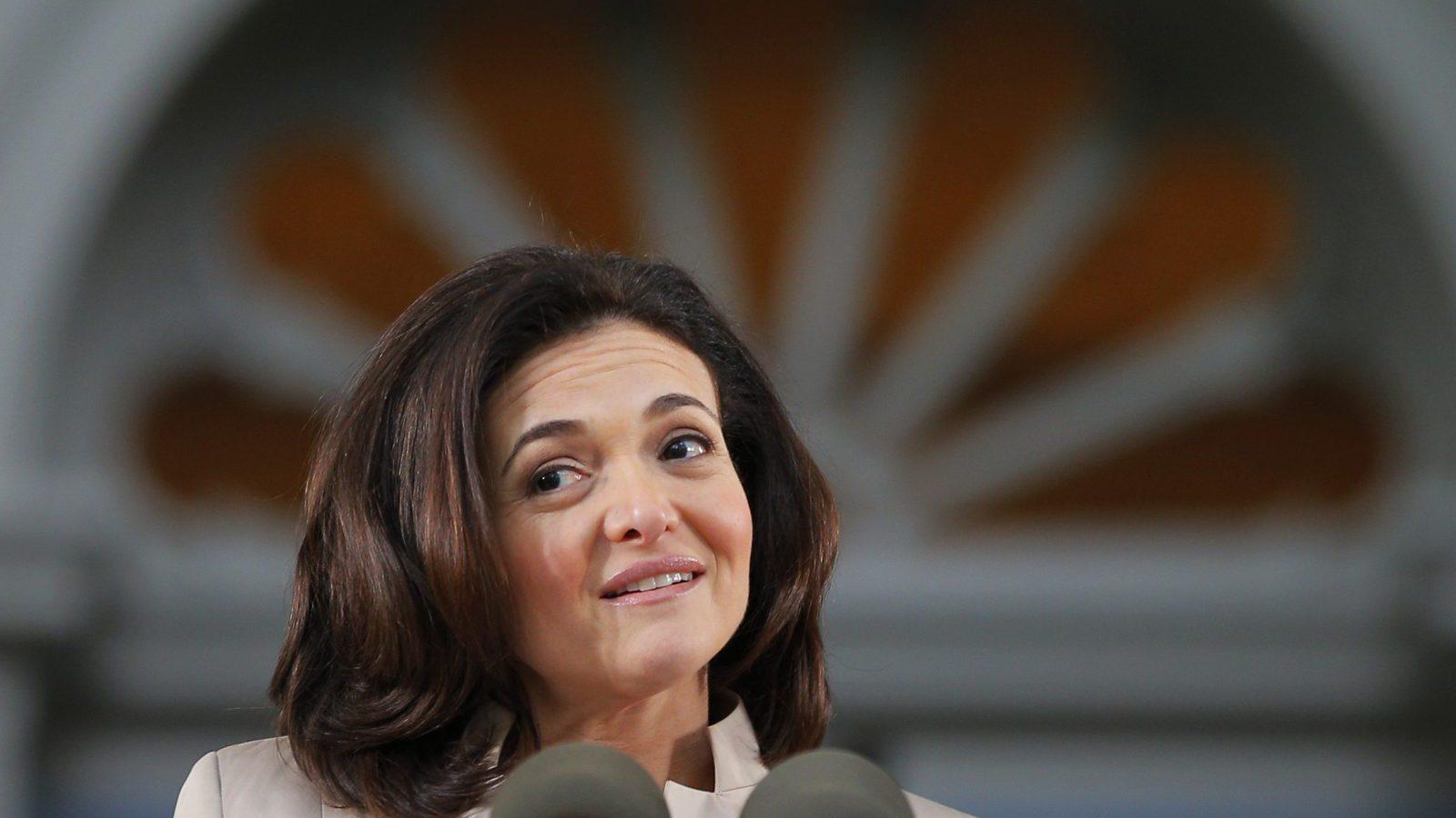 Sheryl Sandberg: McKinsey and LeanIn org study has sobering