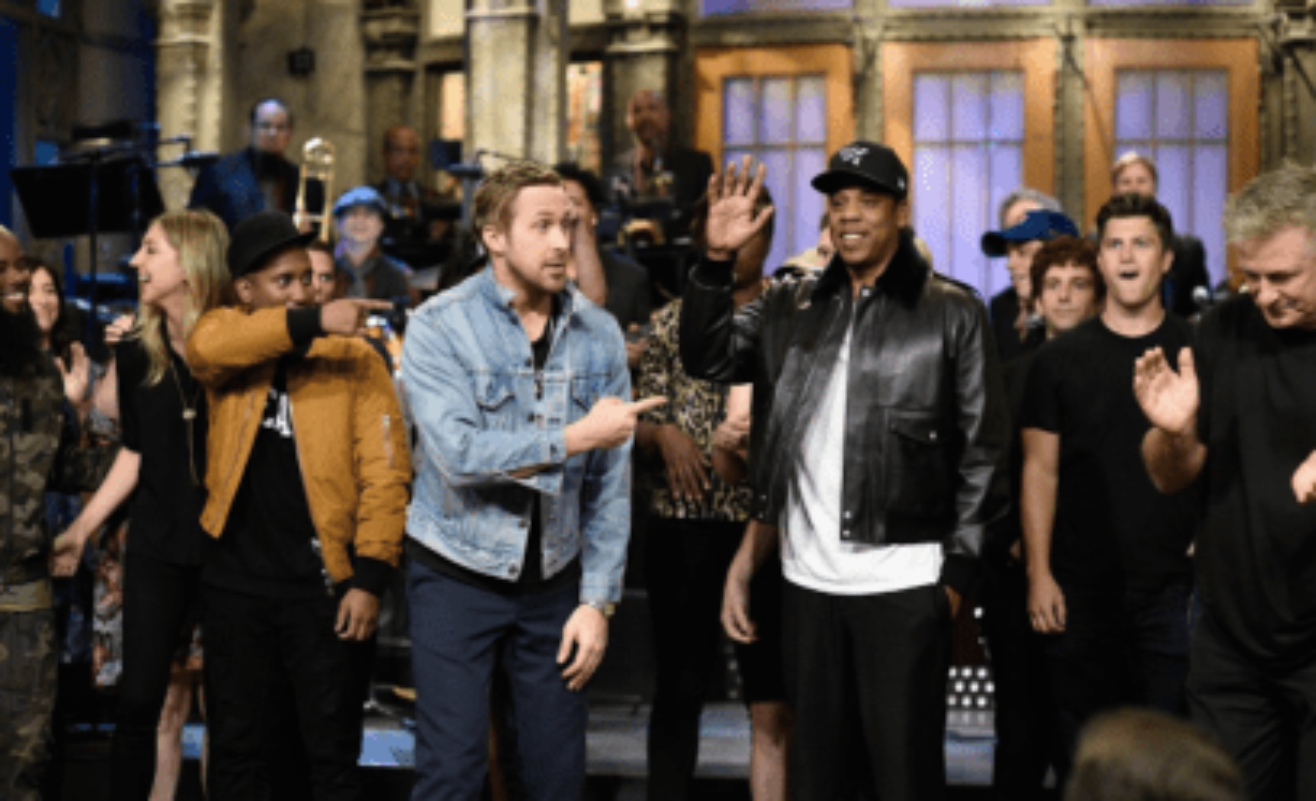 SNL Ryan Gosling Jay-Z