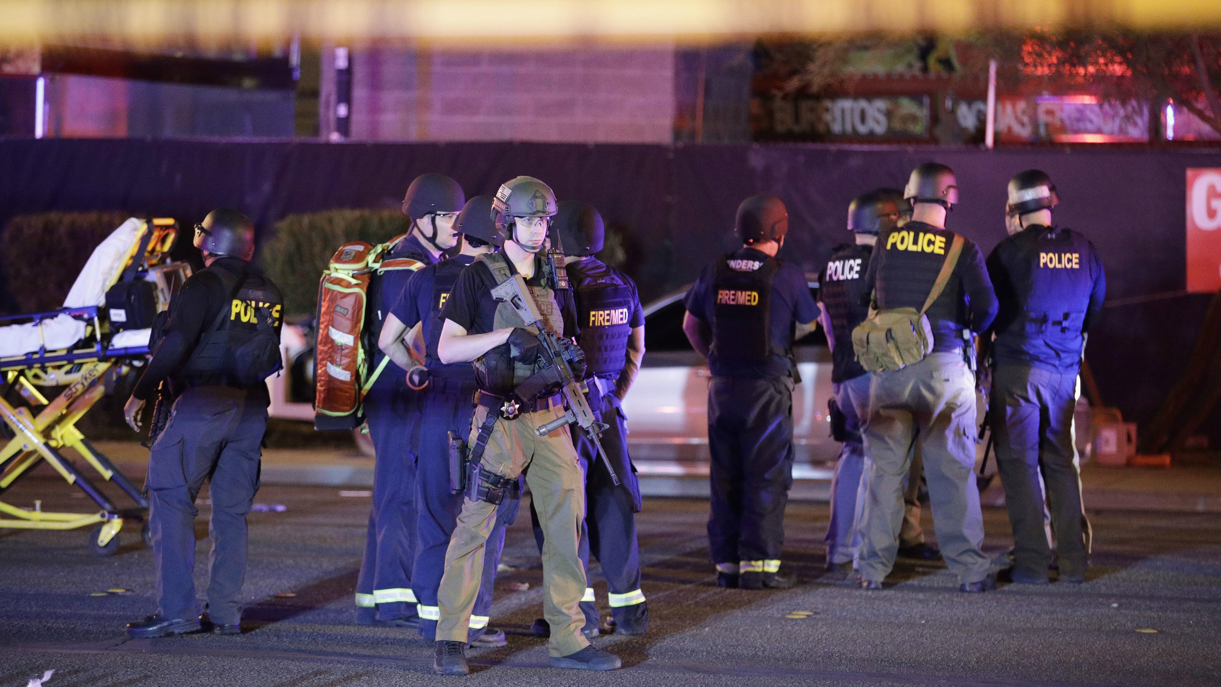 Deadliest mass shooting in the US.