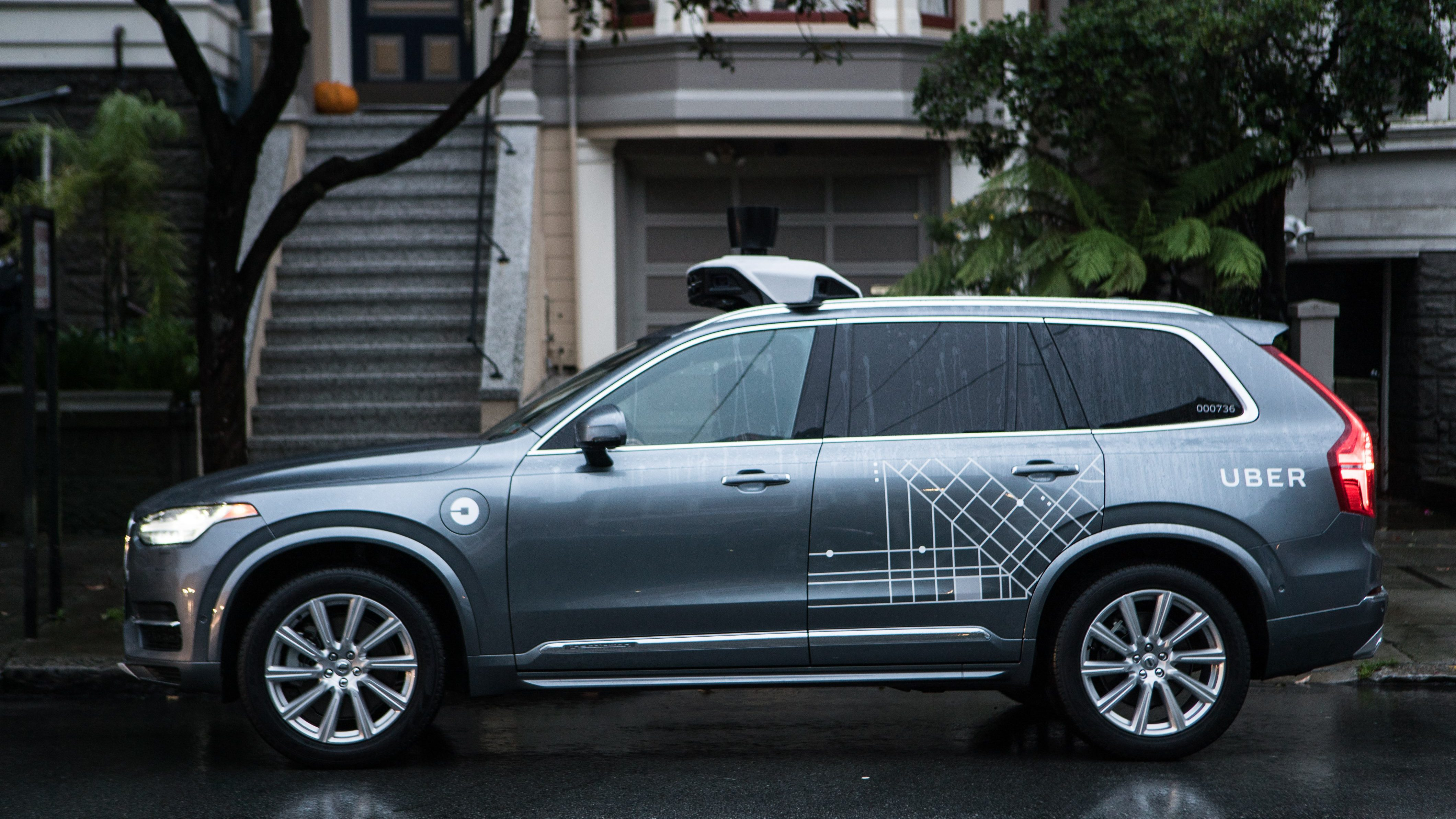 Uber is ing $1 billion worth of self driving XC90 cars from Volvo