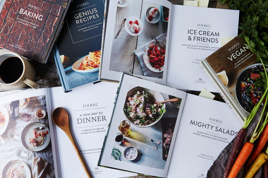 The gift of a great cookbook according to cookbook authors quartzy food52 cookbooks forumfinder Images
