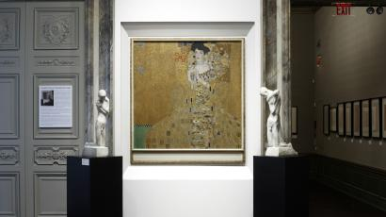 Adele Bloch-Bauer I and Minne Sculptures Neue