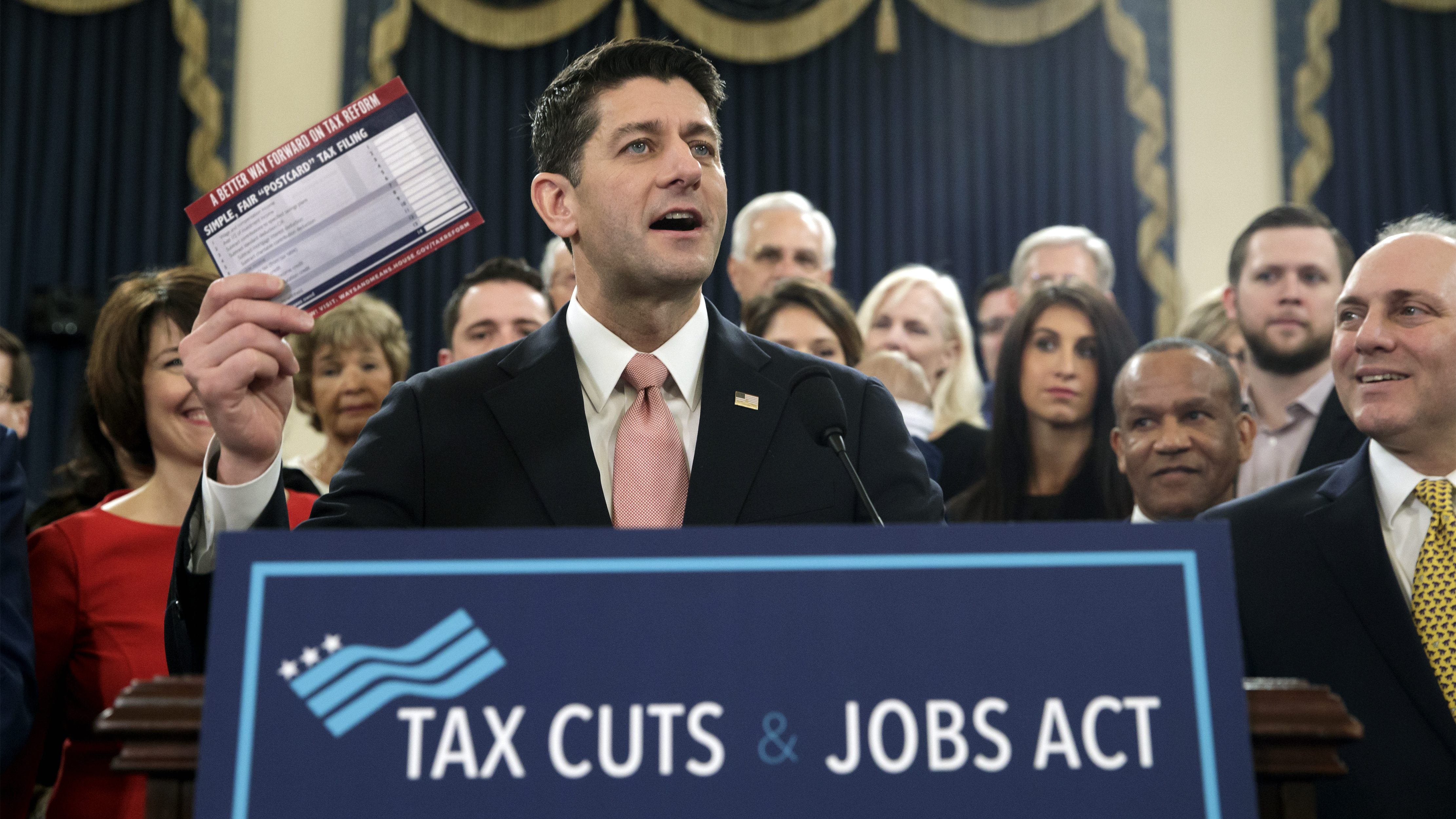 One thing the Republican tax plan won't cut: The 100-page instruction manual